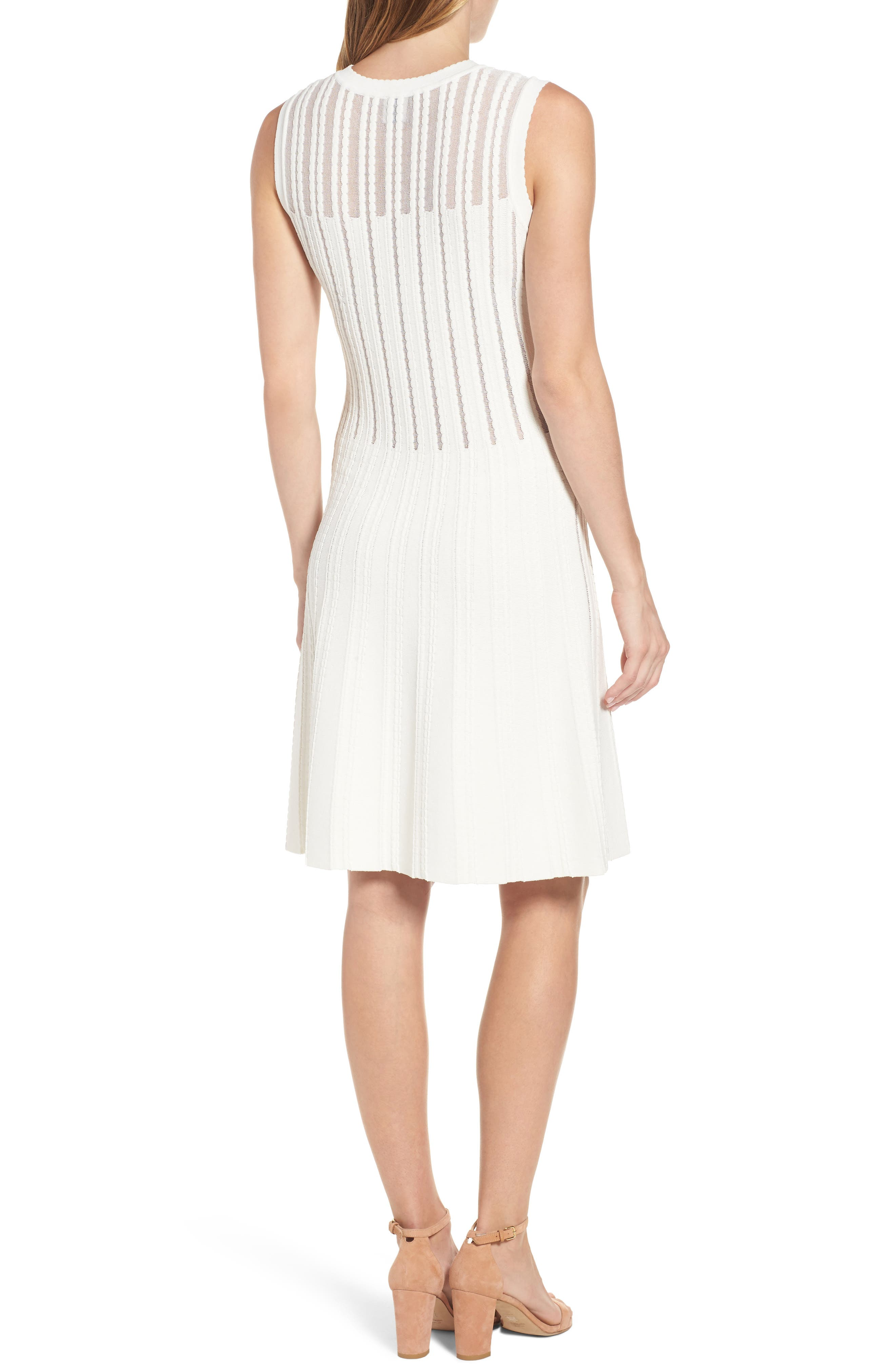 Alternate Image 2  - Anne Klein Knit A-Line Dress