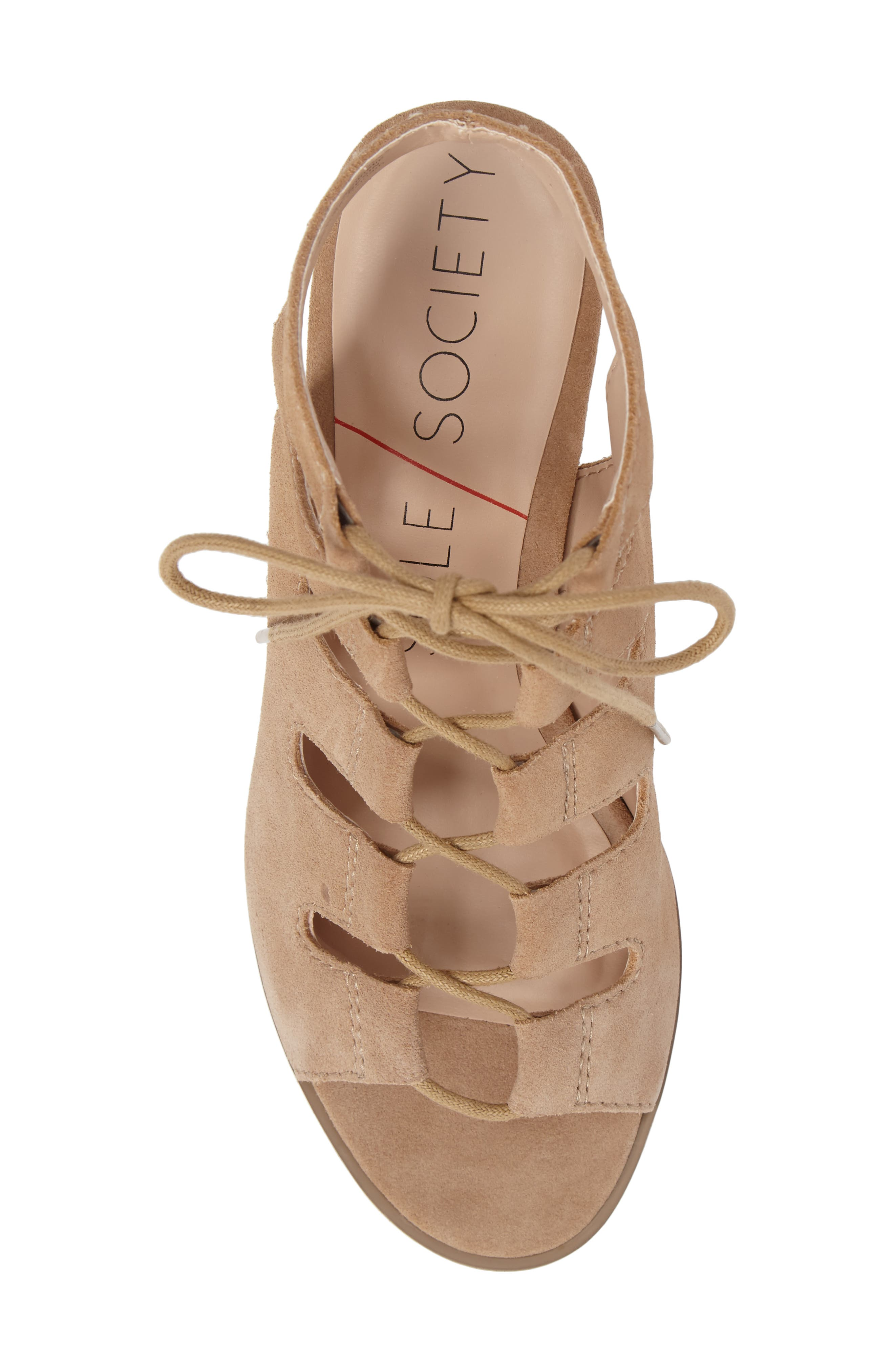 Alternate Image 5  - Sole Society Rae Block Heel Sandal (Women)