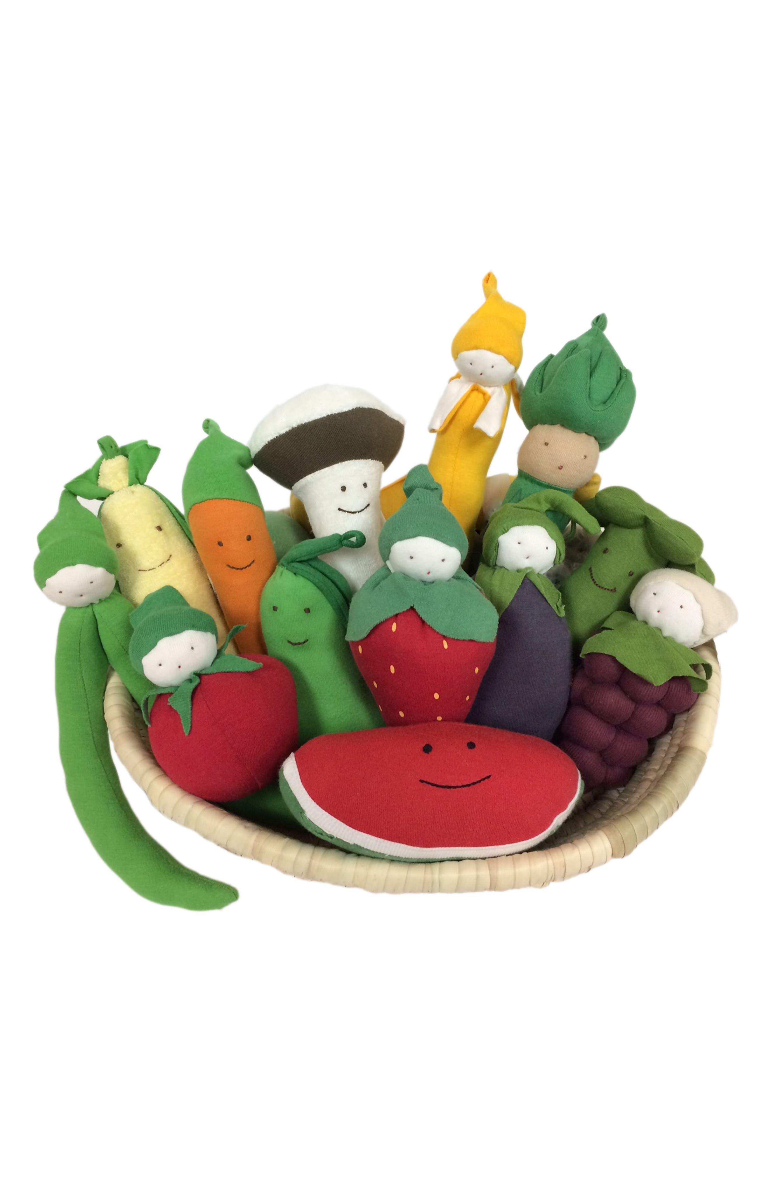 Under the Nile 14-Piece Stuffed Fruit & Vegetable Basket