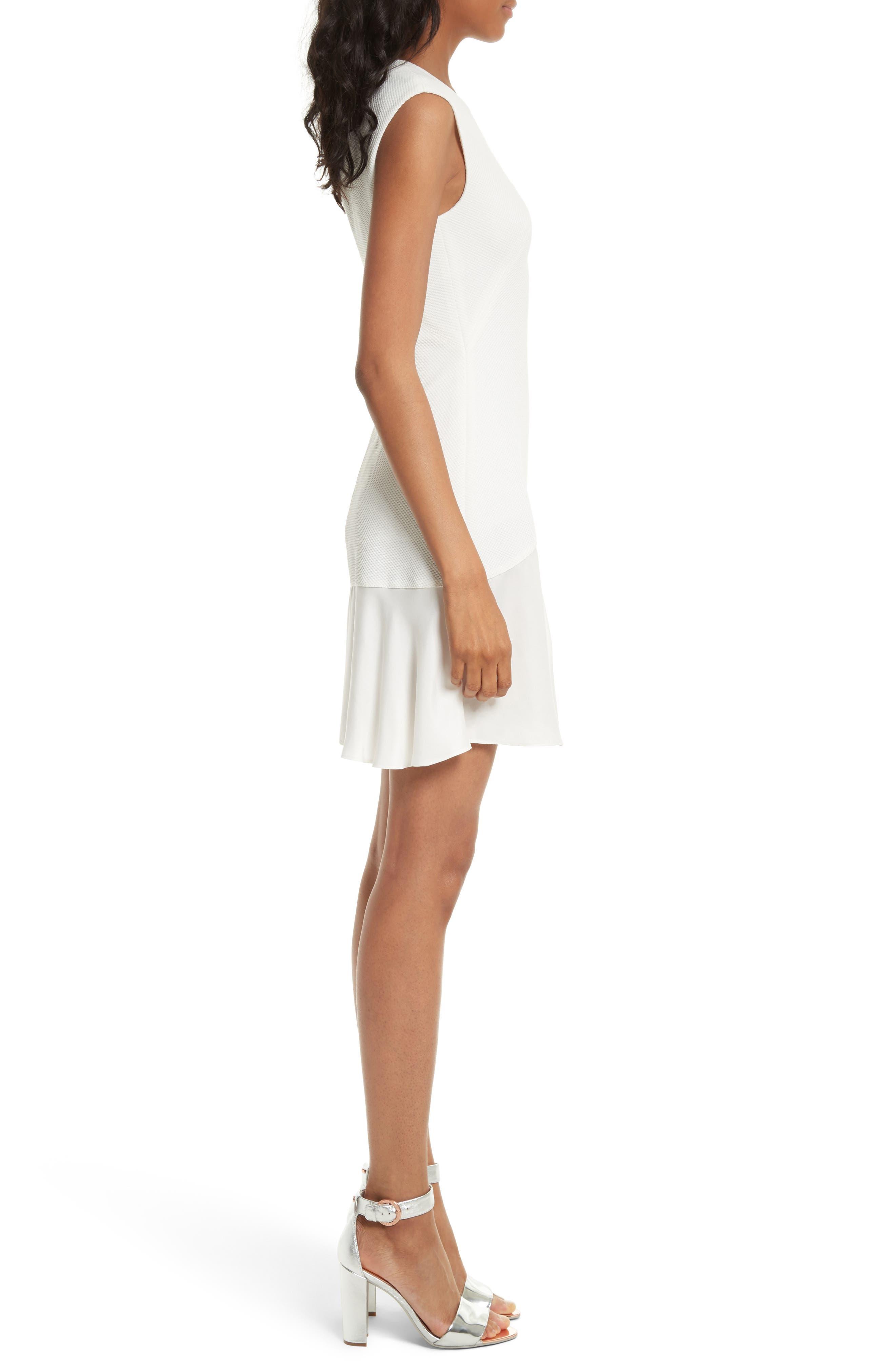 Alternate Image 3  - Rebecca Taylor Stacy Drop Waist Dress