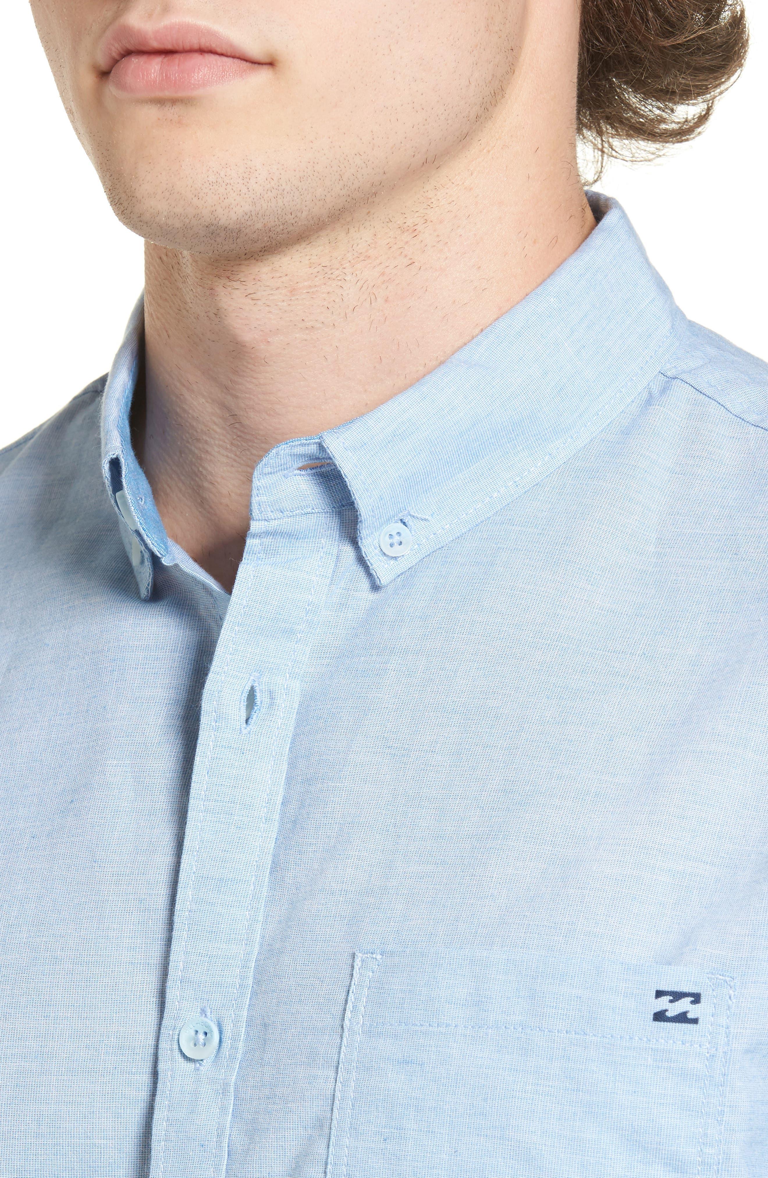 Alternate Image 4  - Billabong All Day Chambray Shirt