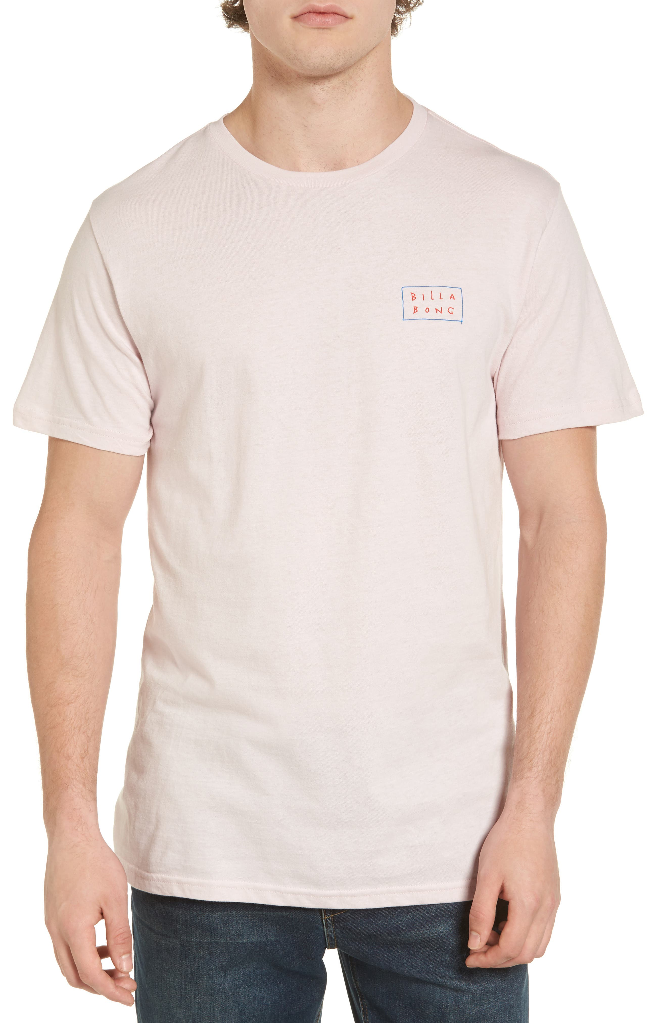 Doodle Die Cut T-Shirt,                             Main thumbnail 1, color,                             Lilac