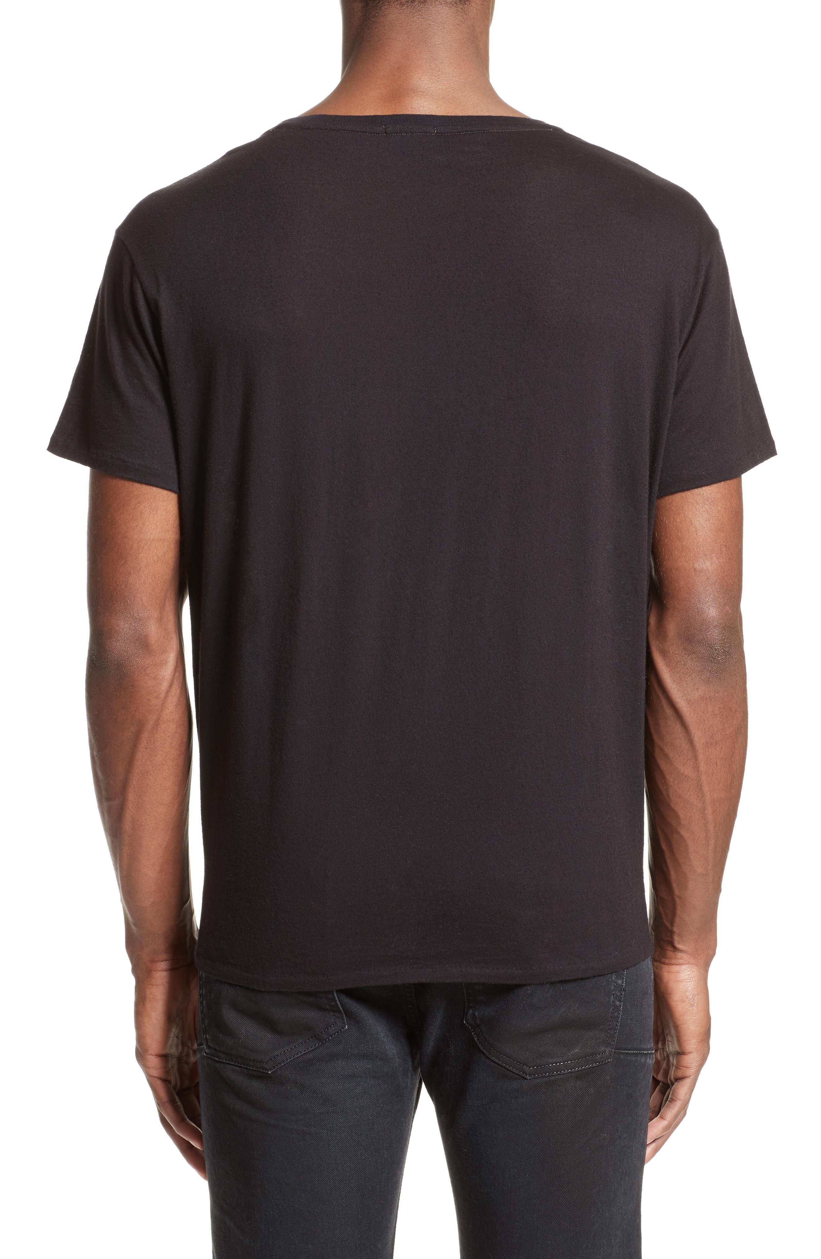 Kurt Graphic T-Shirt,                             Alternate thumbnail 2, color,                             Black