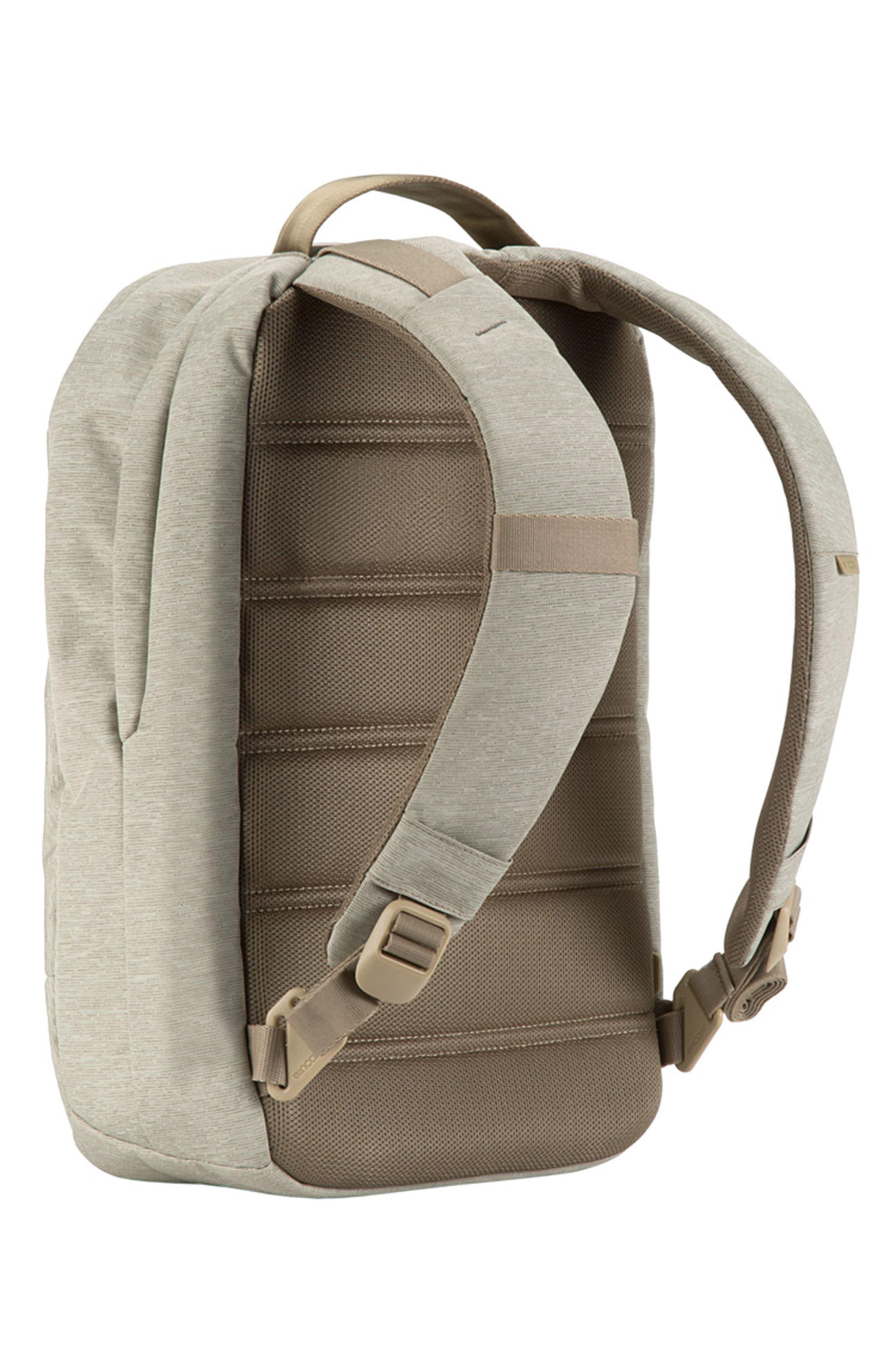 City Compact Backpack,                             Alternate thumbnail 4, color,                             Heather Khaki