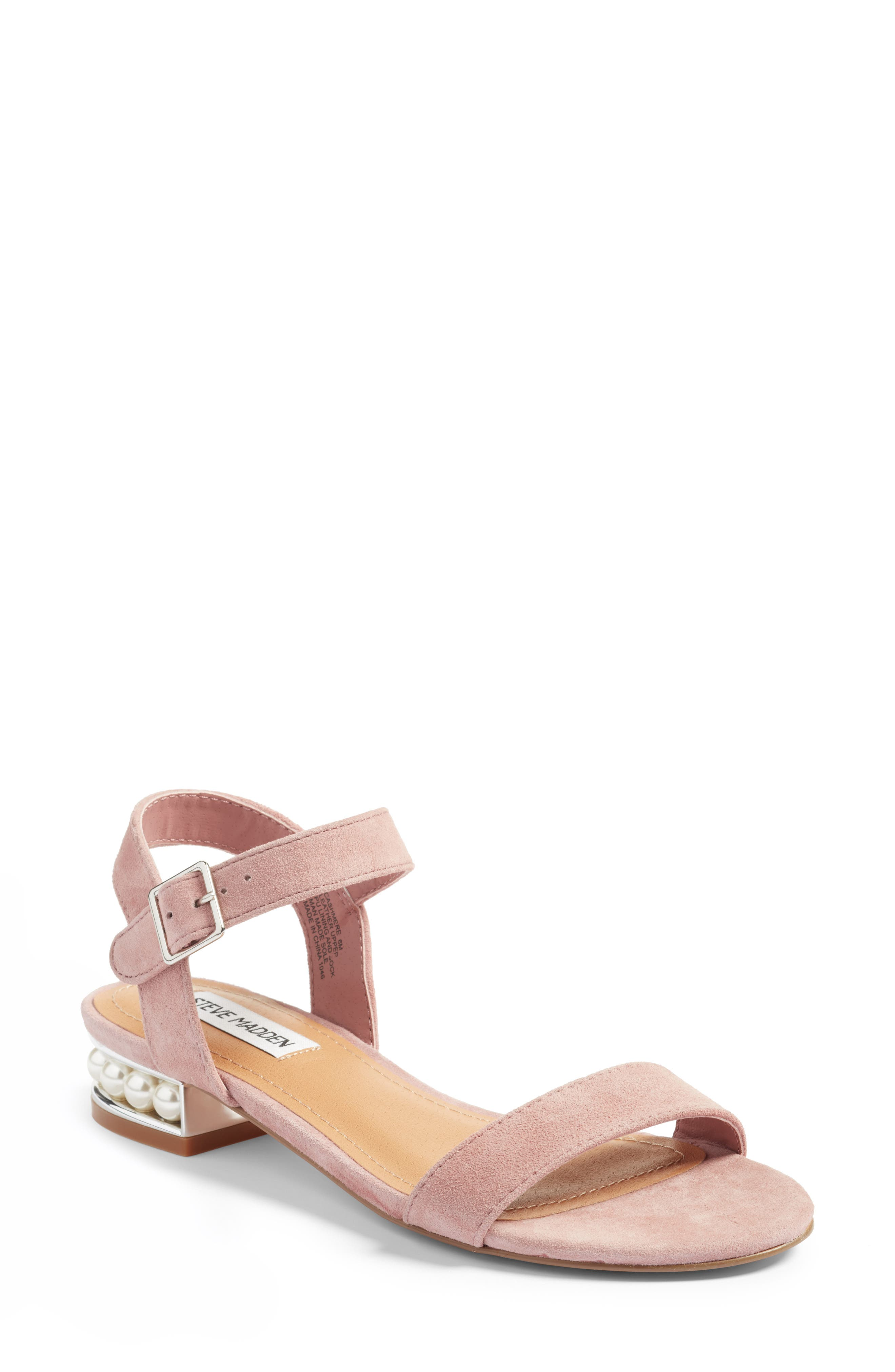 Alternate Image 1 Selected - Steve Madden Embellished Sandal (Women)