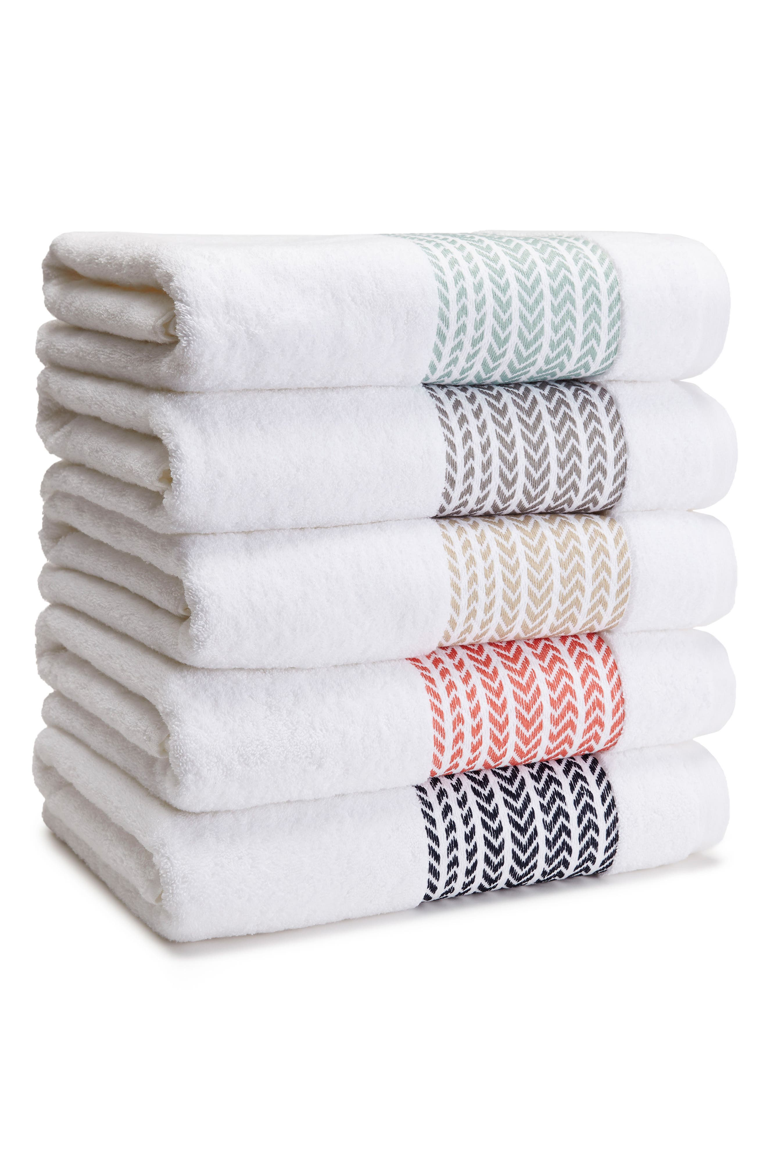 Alternate Image 2  - KASSATEX Baja Bath Towel