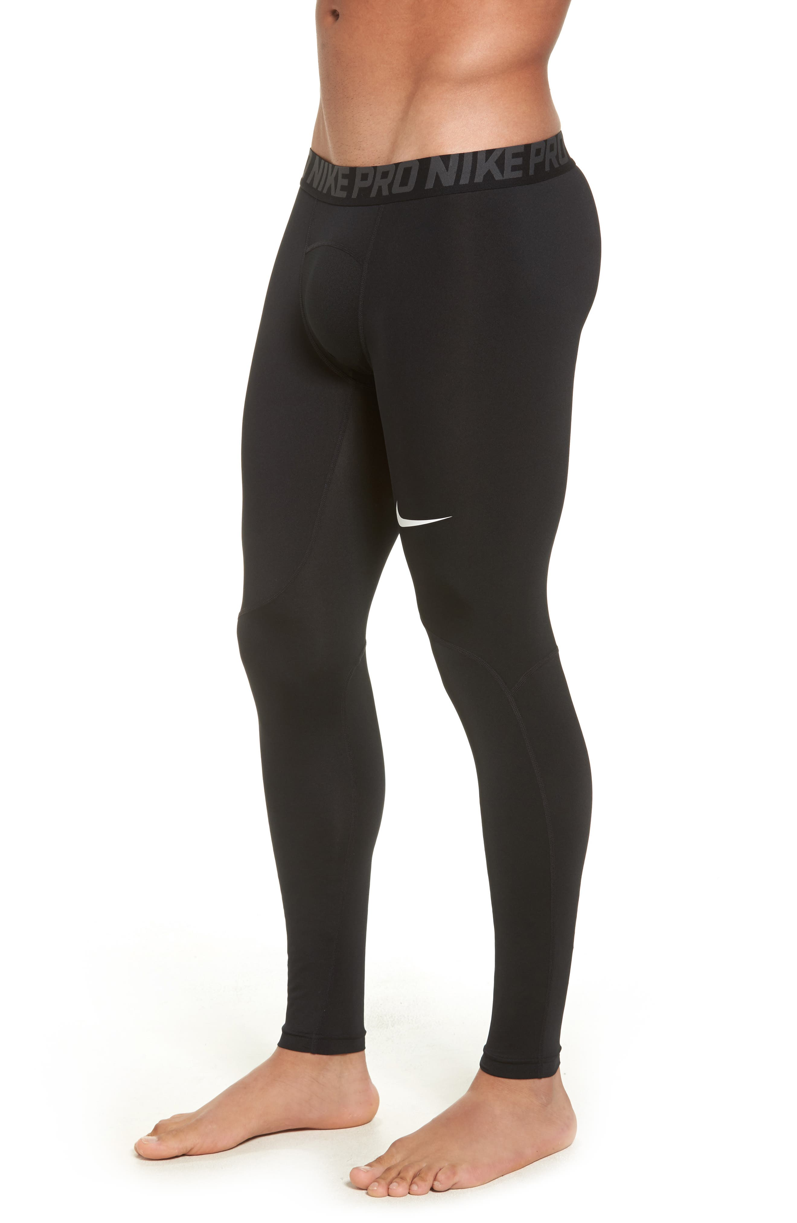 Alternate Image 3  - Nike Pro Three Quarter Training Tights