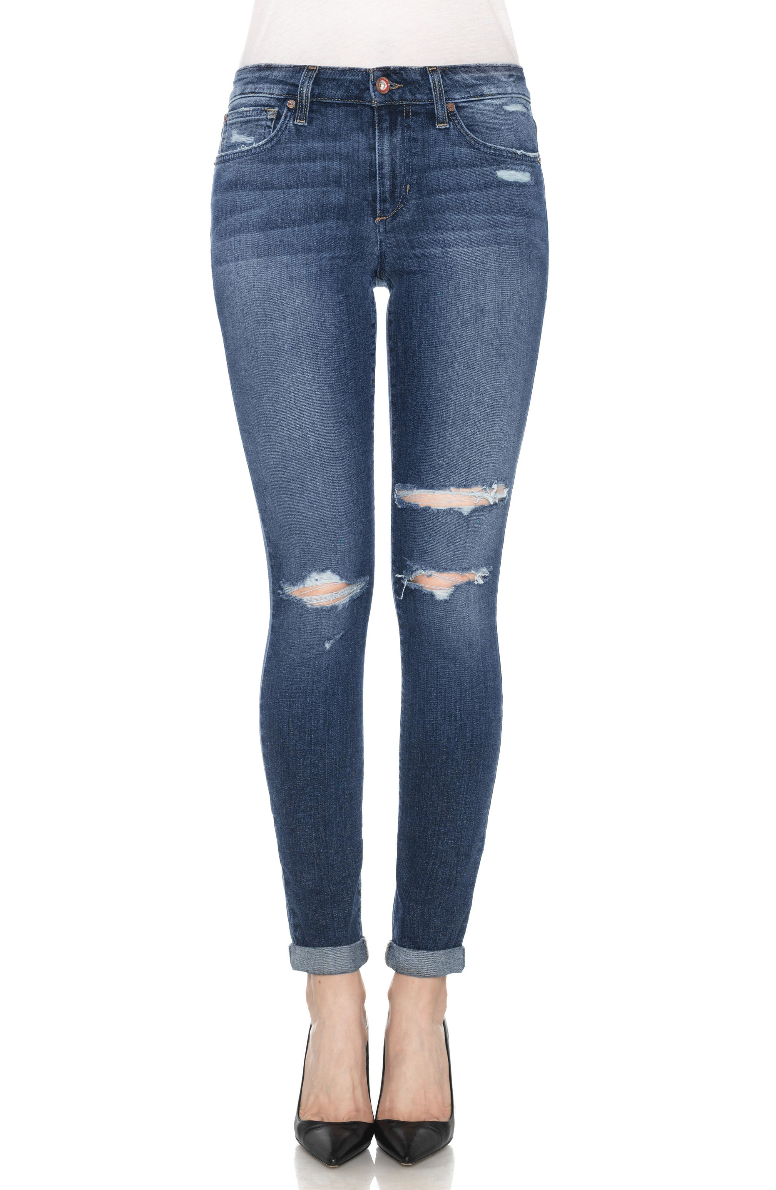 Alternate Image 1 Selected - Joe's Icon Ankle Skinny Jeans (Addison)