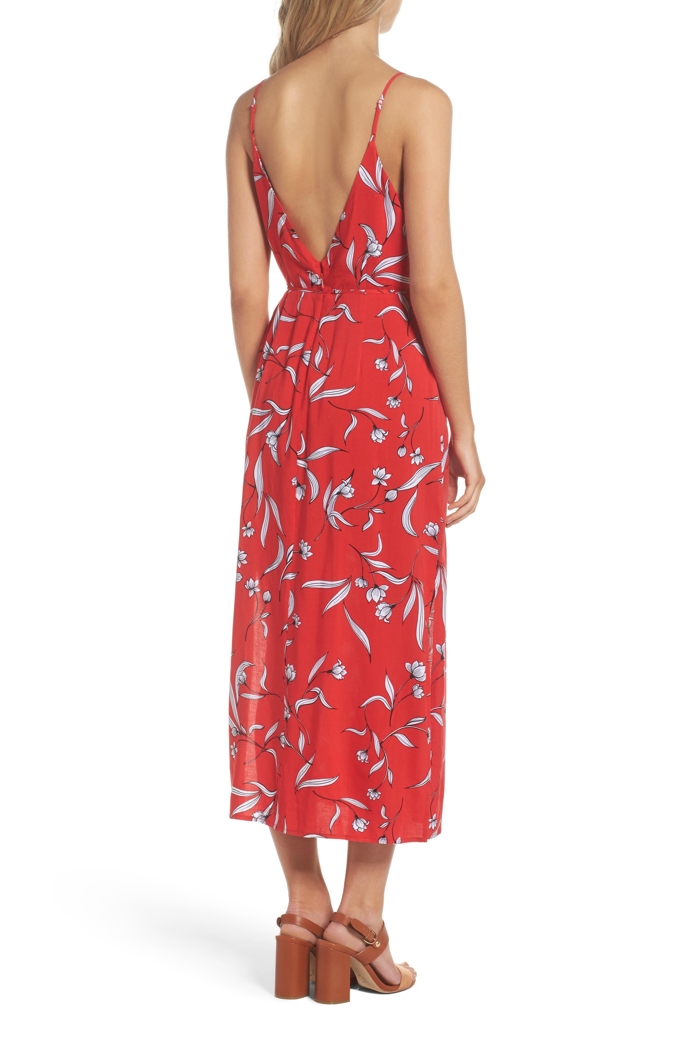 Amelia Floral Dress,                             Alternate thumbnail 2, color,                             Floral Print