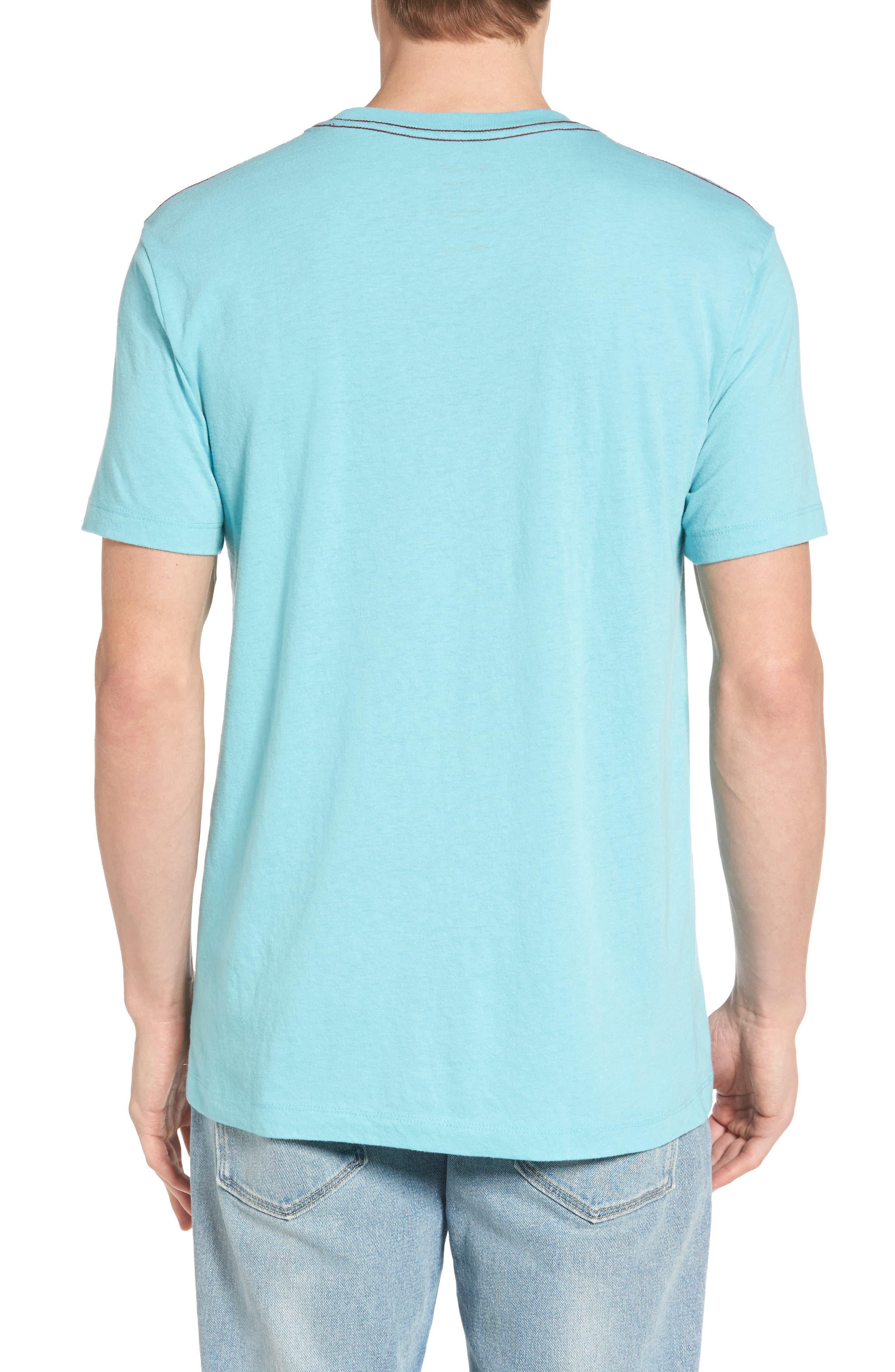 Alternate Image 2  - RVCA Small RVCA Chest Graphic T-Shirt