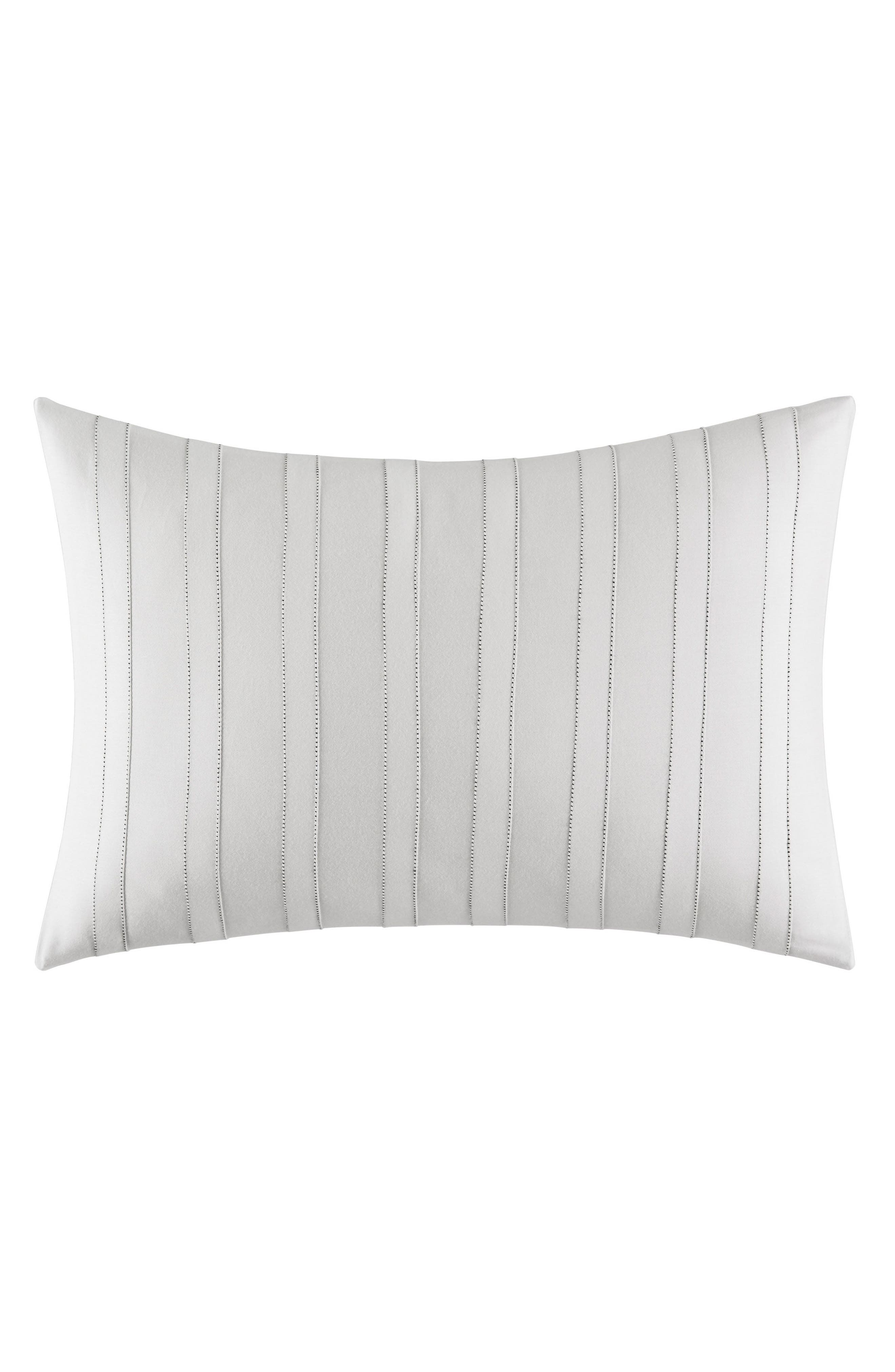 Mirrored Square Breakfast Accent Pillow,                         Main,                         color, White