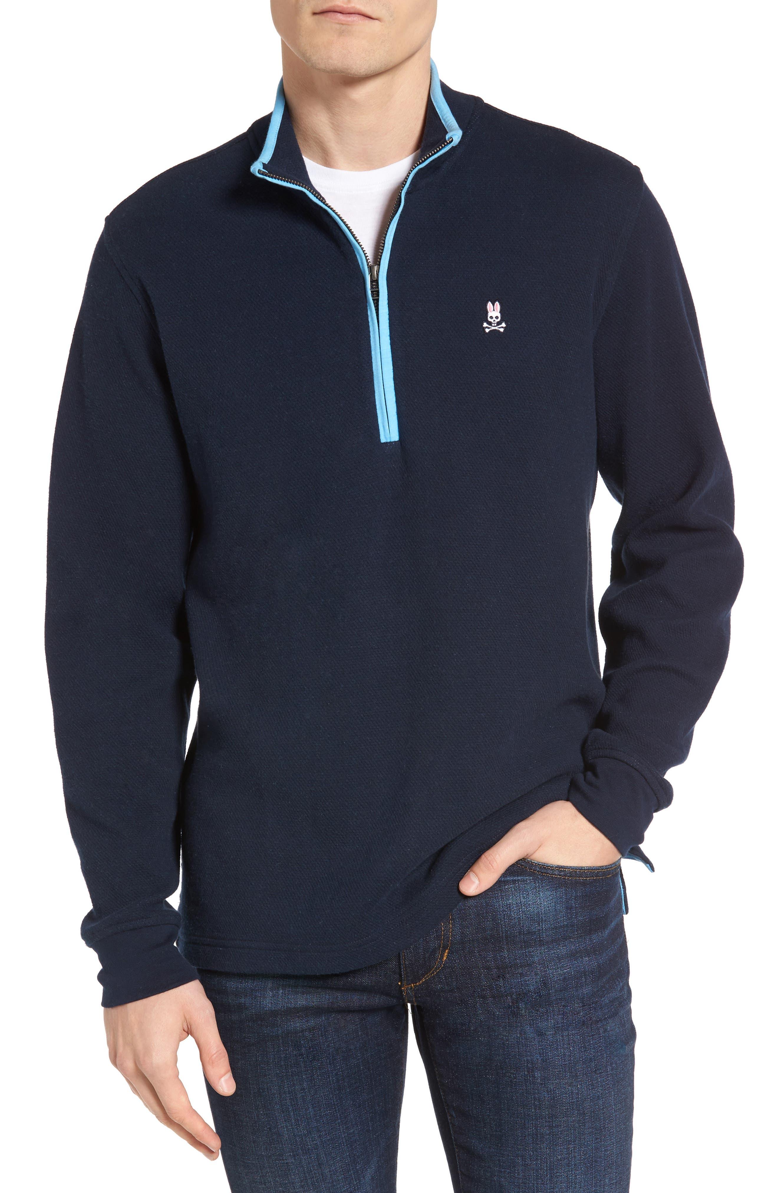 Main Image - Psycho Bunny Golf Half Zip Pullover
