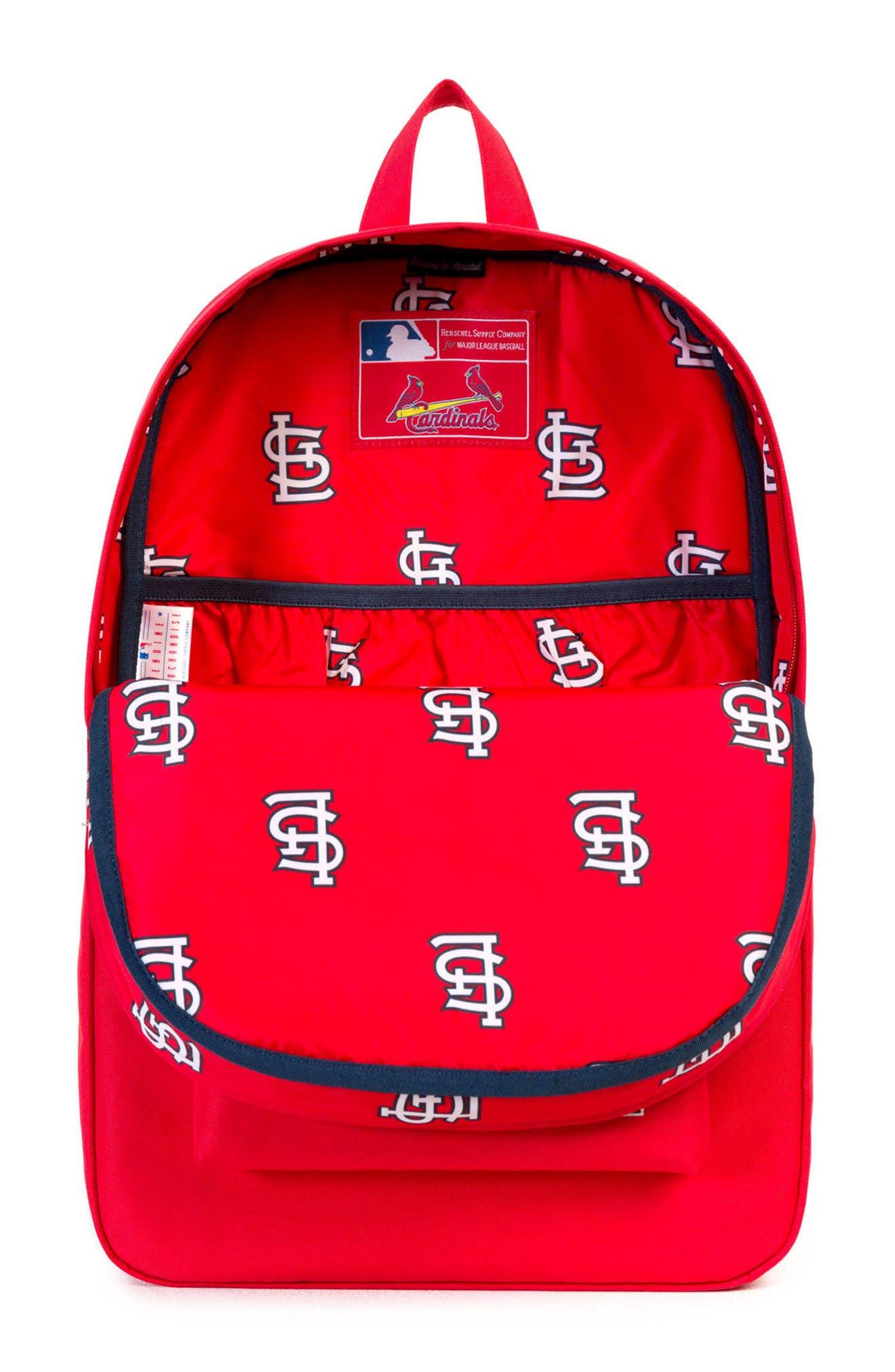 Heritage St. Louis Cardinals Backpack,                             Alternate thumbnail 3, color,                             St. Louis Cardinals
