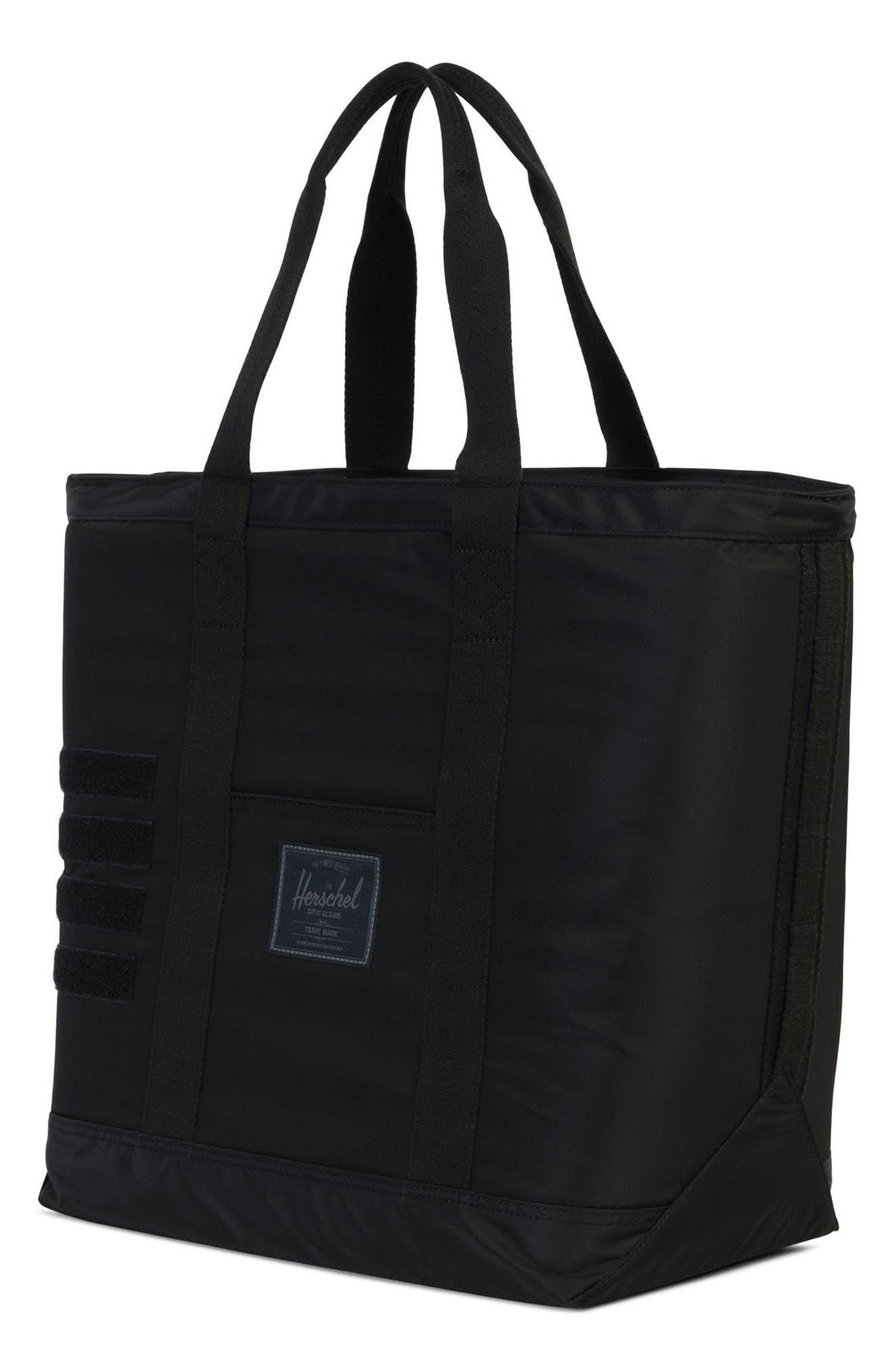 Bamfield Surplus Collection Tote Bag,                             Alternate thumbnail 2, color,                             Black