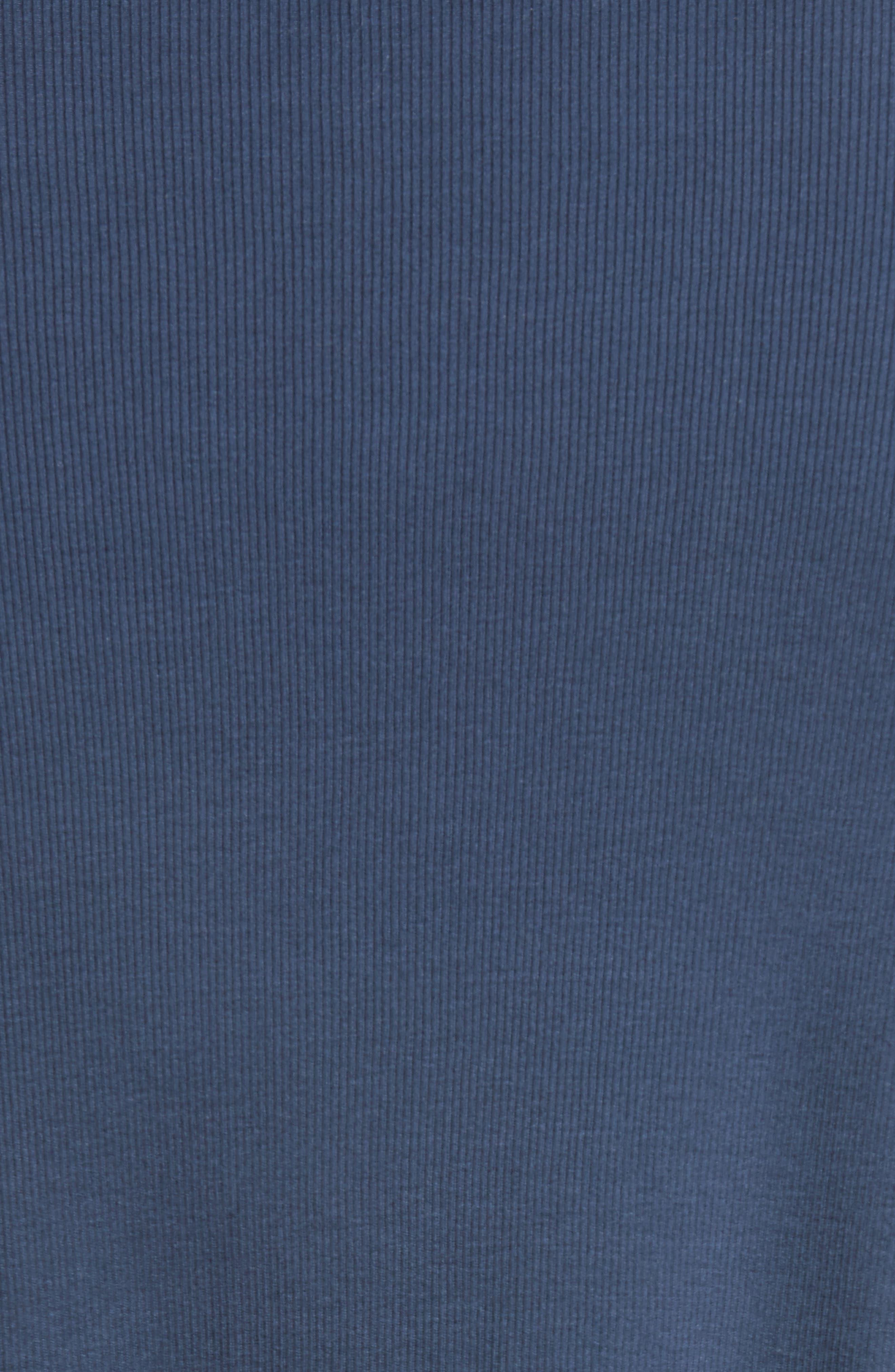 Alternate Image 5  - John Varvatos Collection Ribbed Crewneck T-Shirt