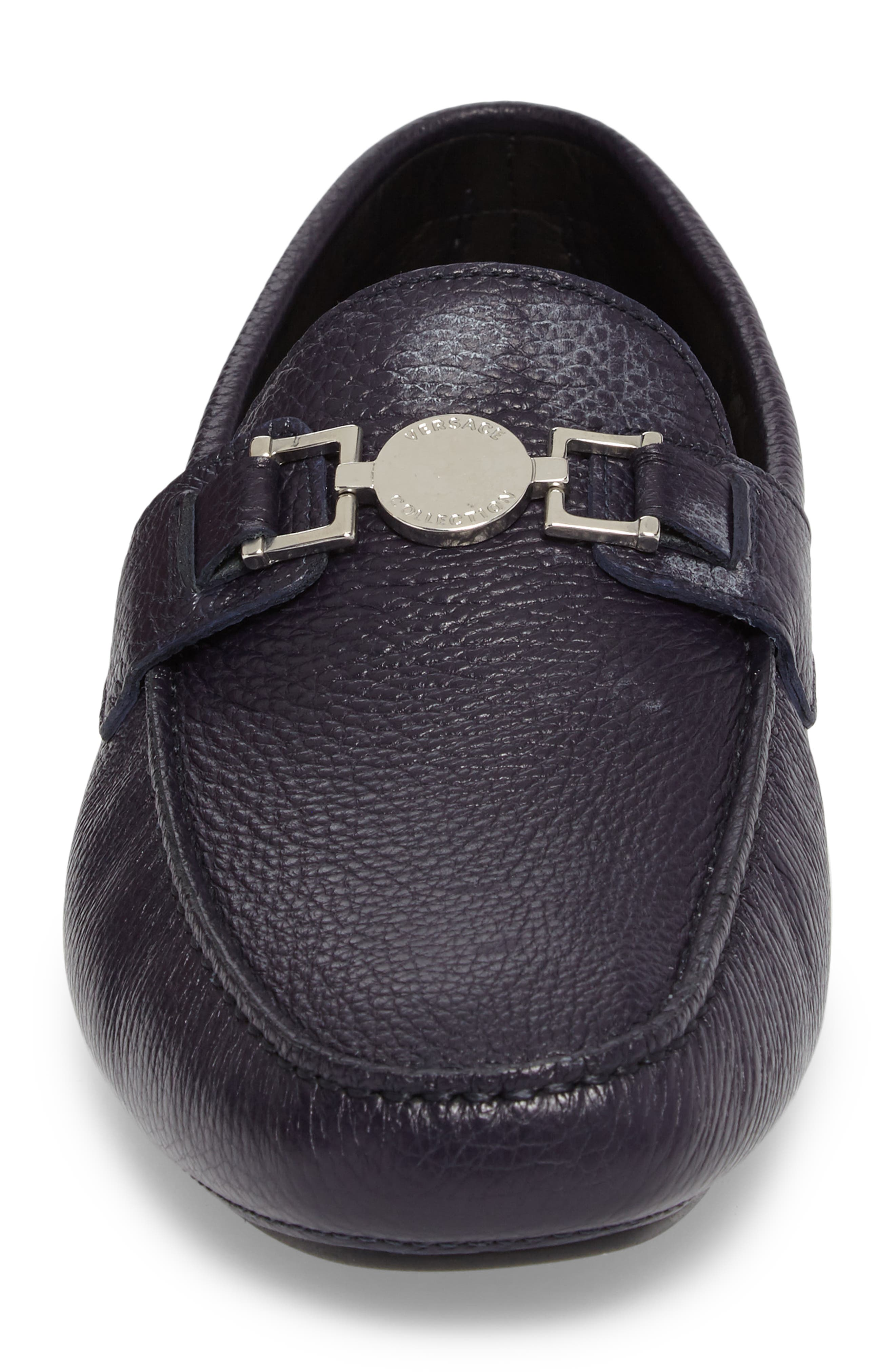 Alternate Image 4  - Versace Driving Shoe (Men)