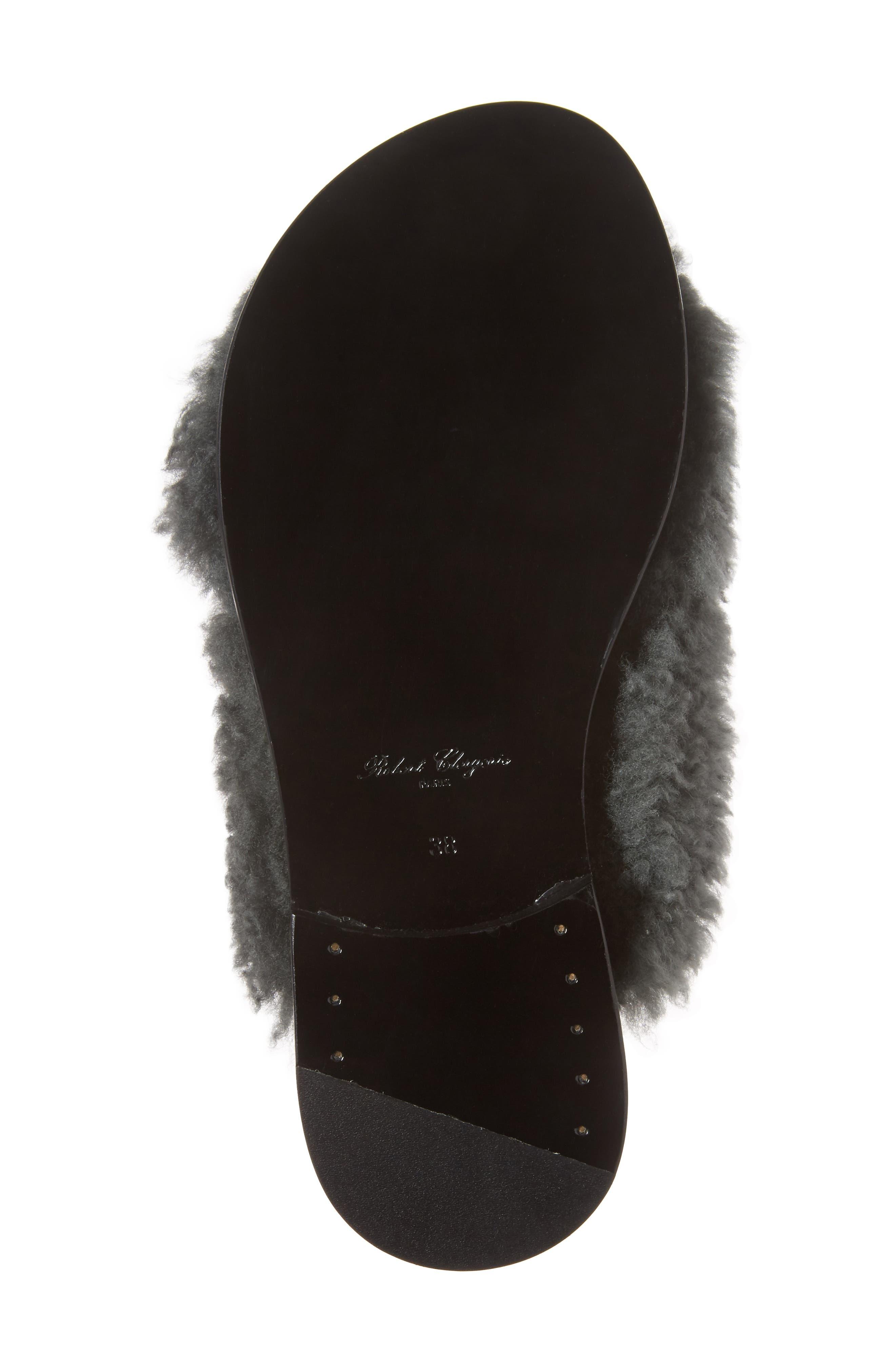 Alternate Image 6  - Robert Clergerie Bloss Genuine Fur Sandal (Women)