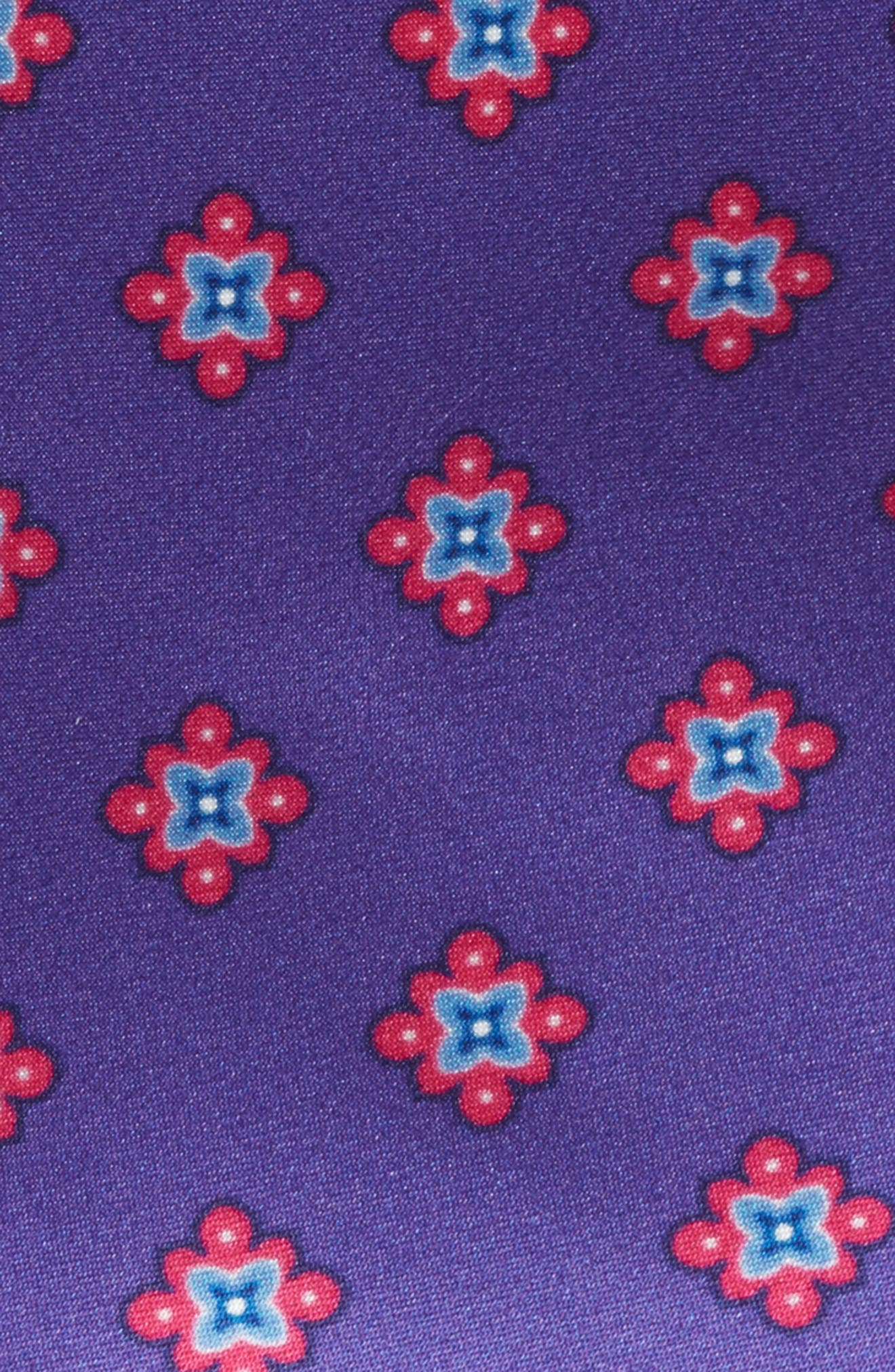 Alternate Image 2  - Nordstrom Men's Shop Duchess Satin Print Silk Tie