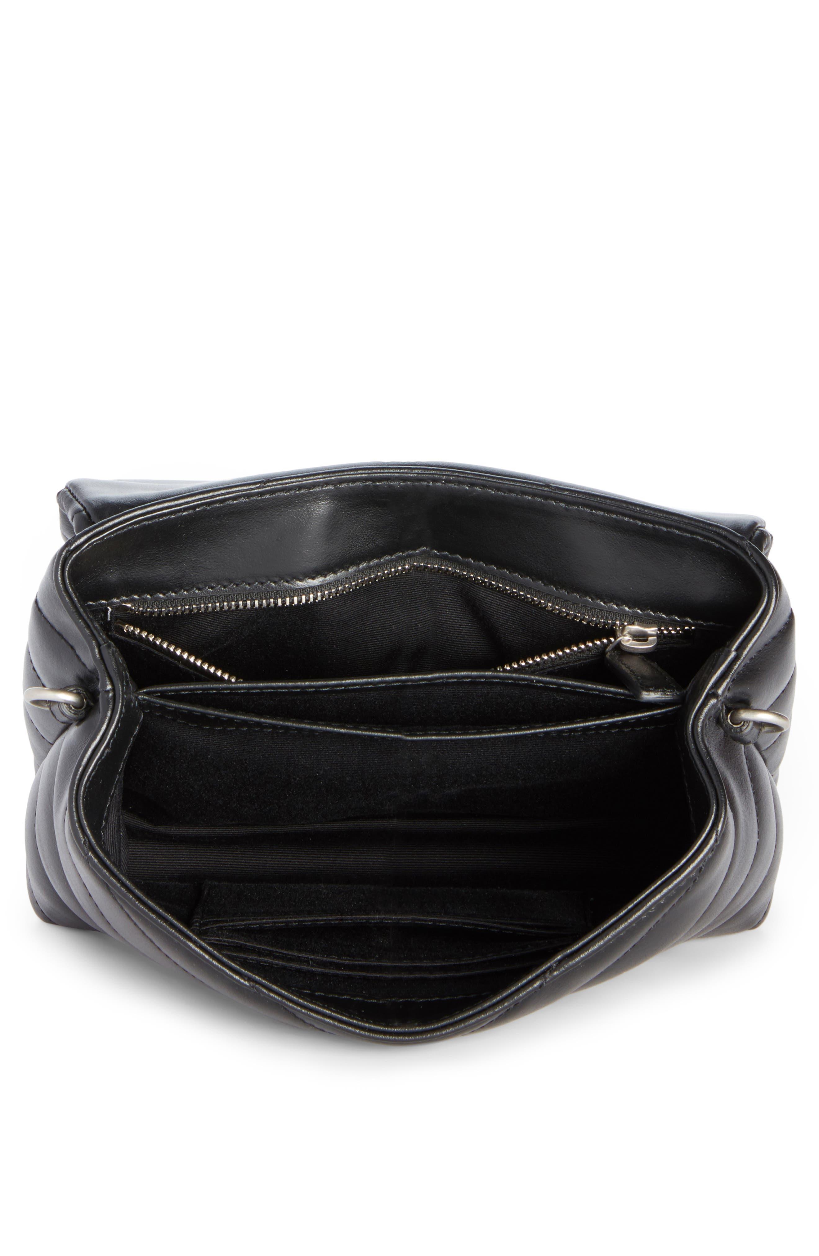 Alternate Image 4  - Saint Laurent Toy LouLou Calfskin Leather Crossbody Bag