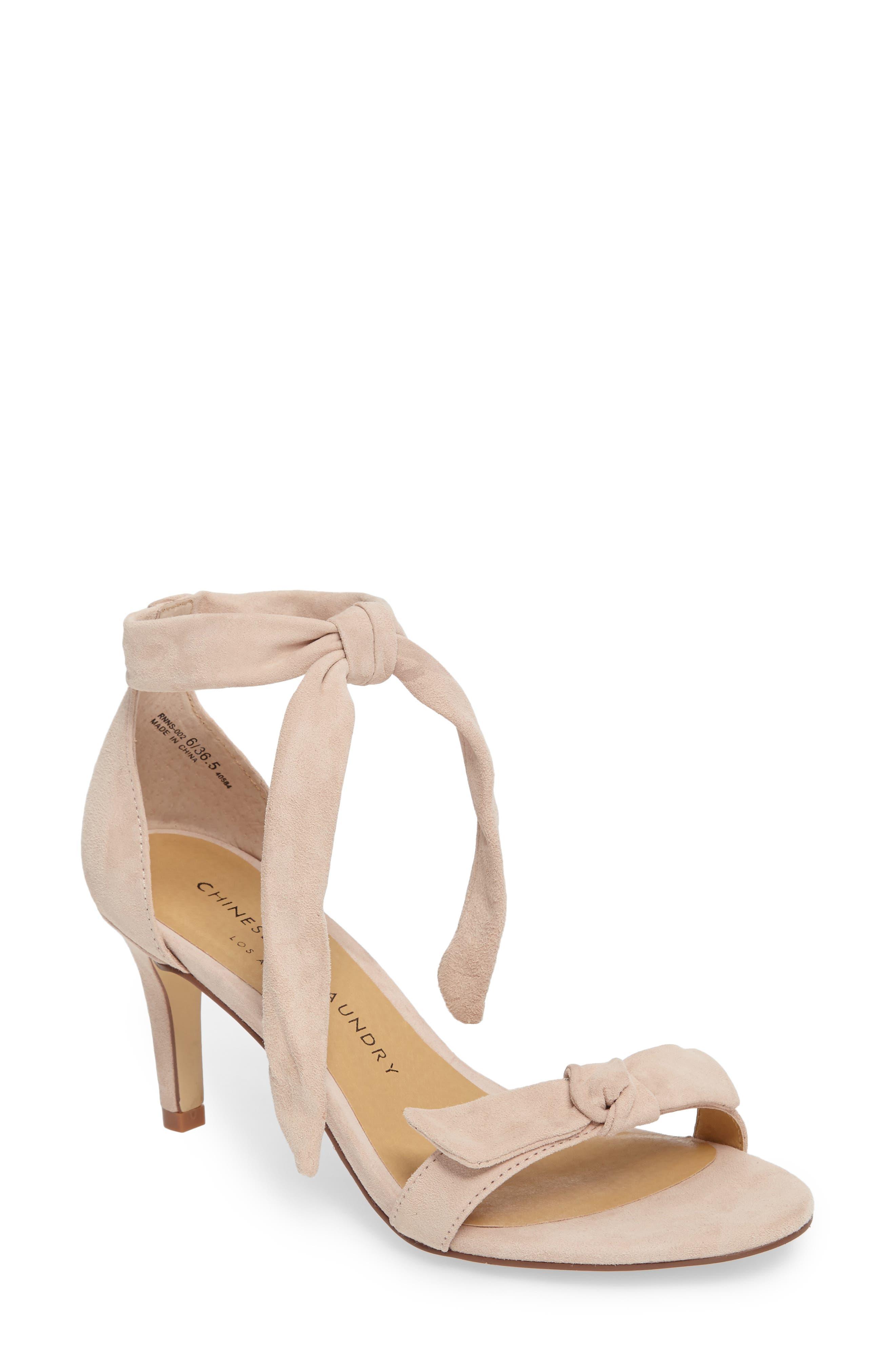 Alternate Image 1 Selected - Chinese Laundry Rhonda Ankle Tie Sandal (Women)