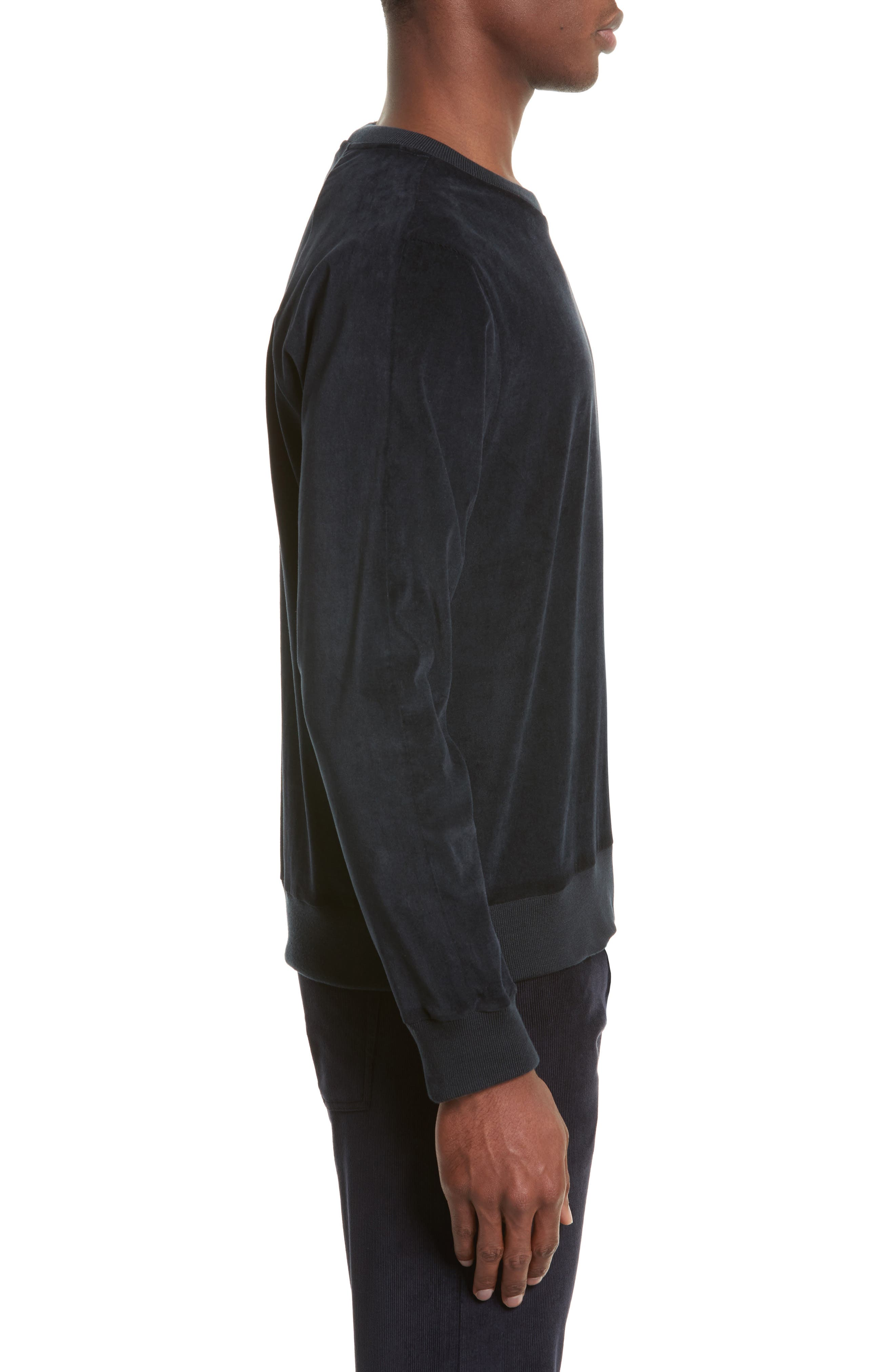 Alternate Image 3  - Paul Smith Velvet Sweatshirt
