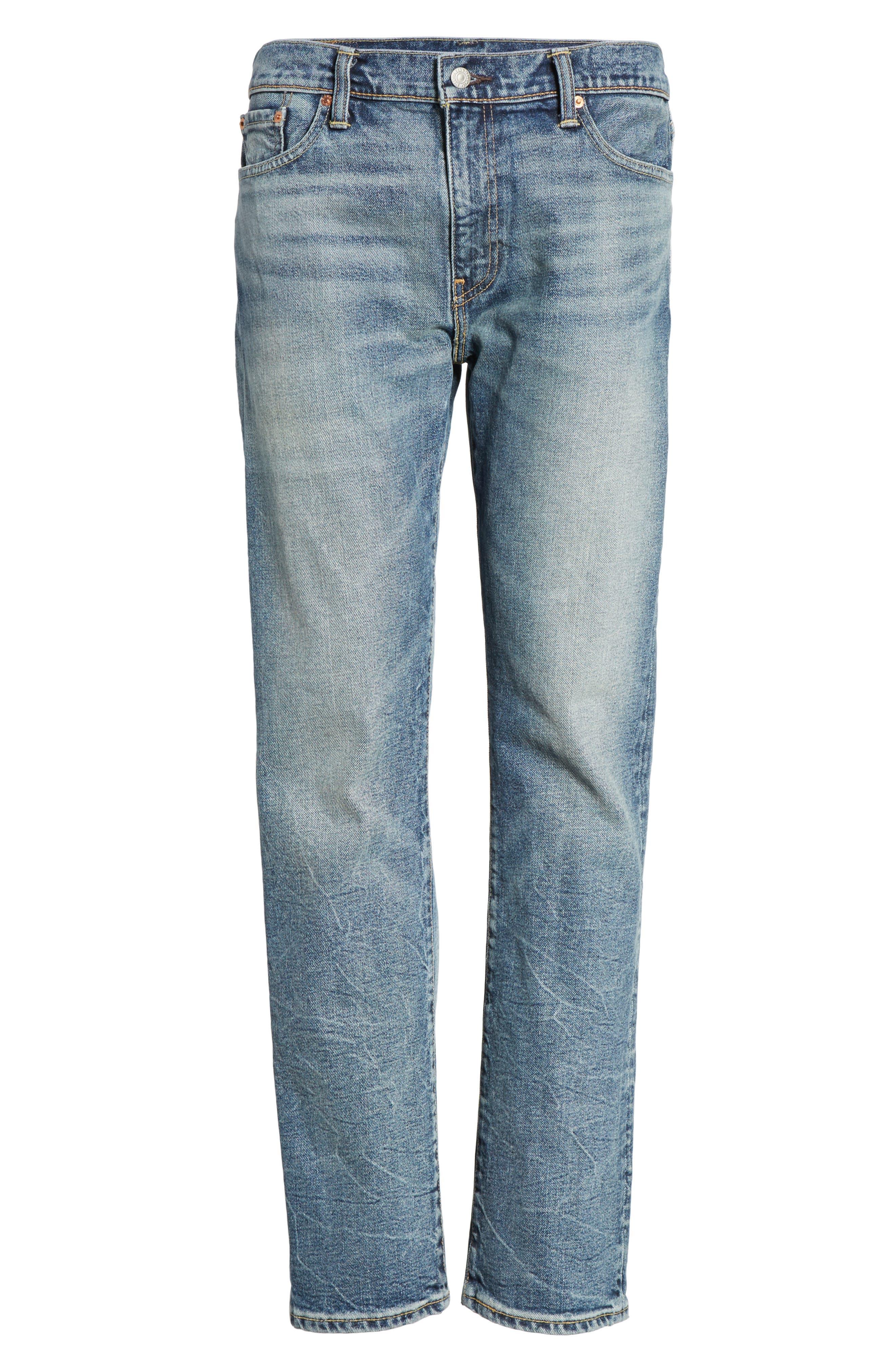 Alternate Image 6  - Levi's® 513™ Slim Straight Leg Jeans (Danz)
