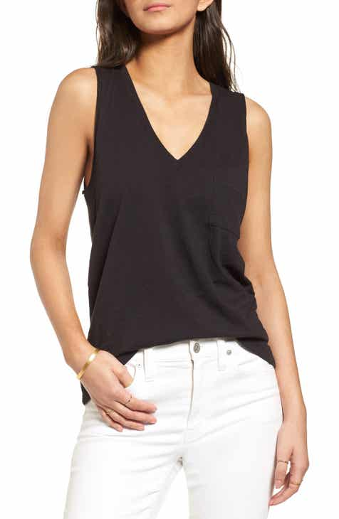 626d12ef32fa3 Madewell Whisper Cotton V-Neck Tank