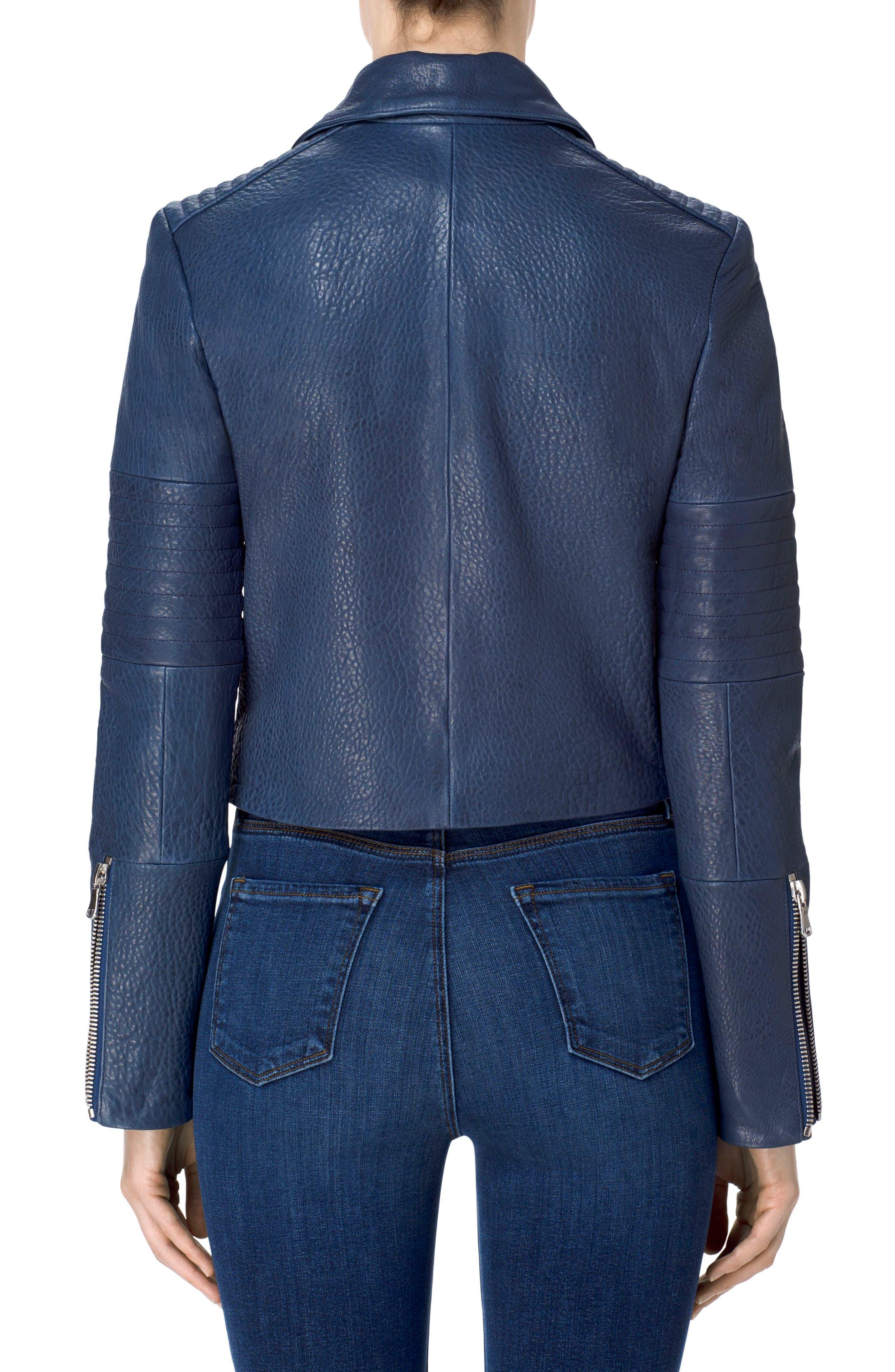 Alternate Image 2  - J Brand Aiah Leather Moto Jacket