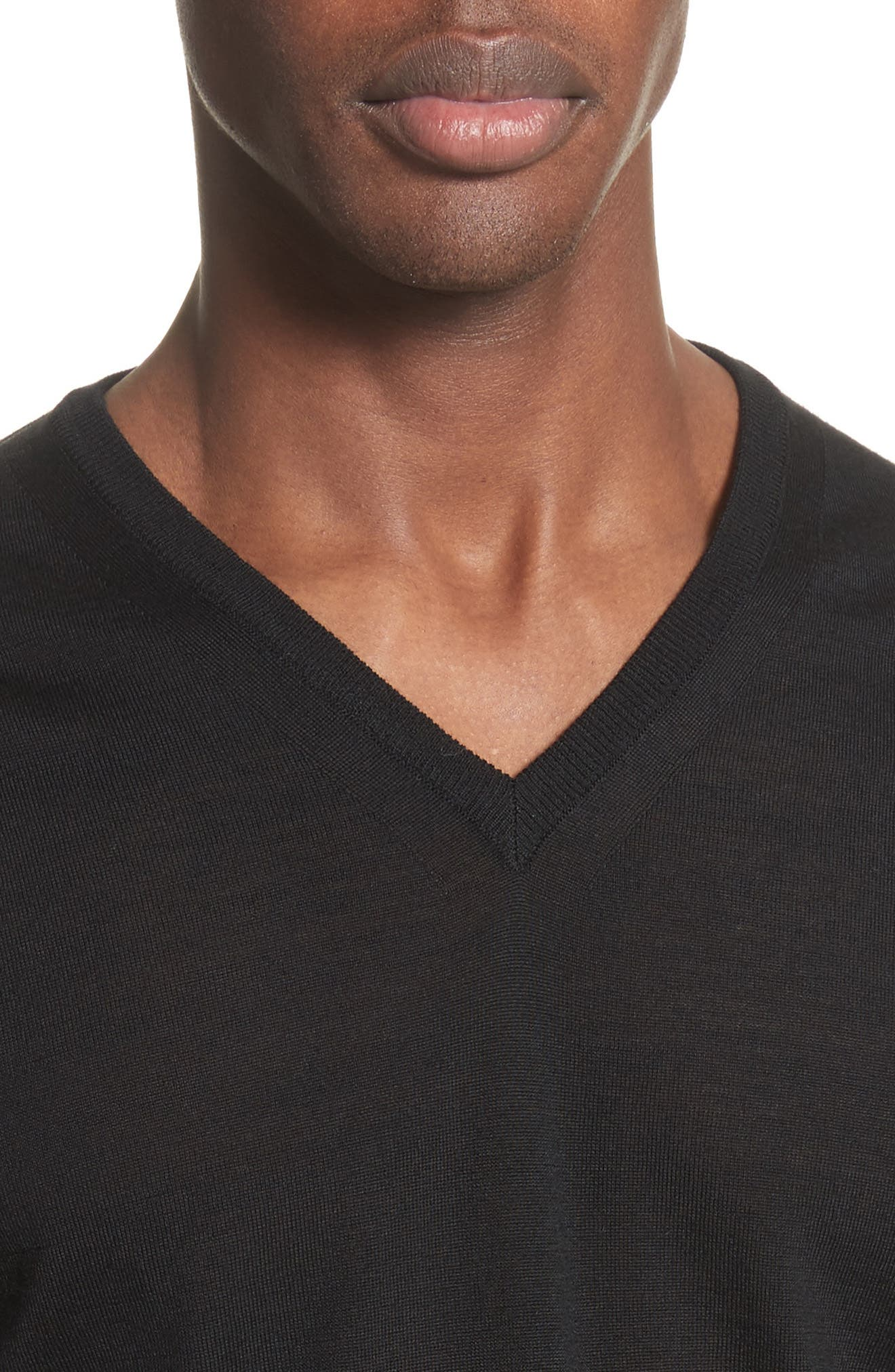Alternate Image 4  - Lanvin Wool V-Neck Sweater