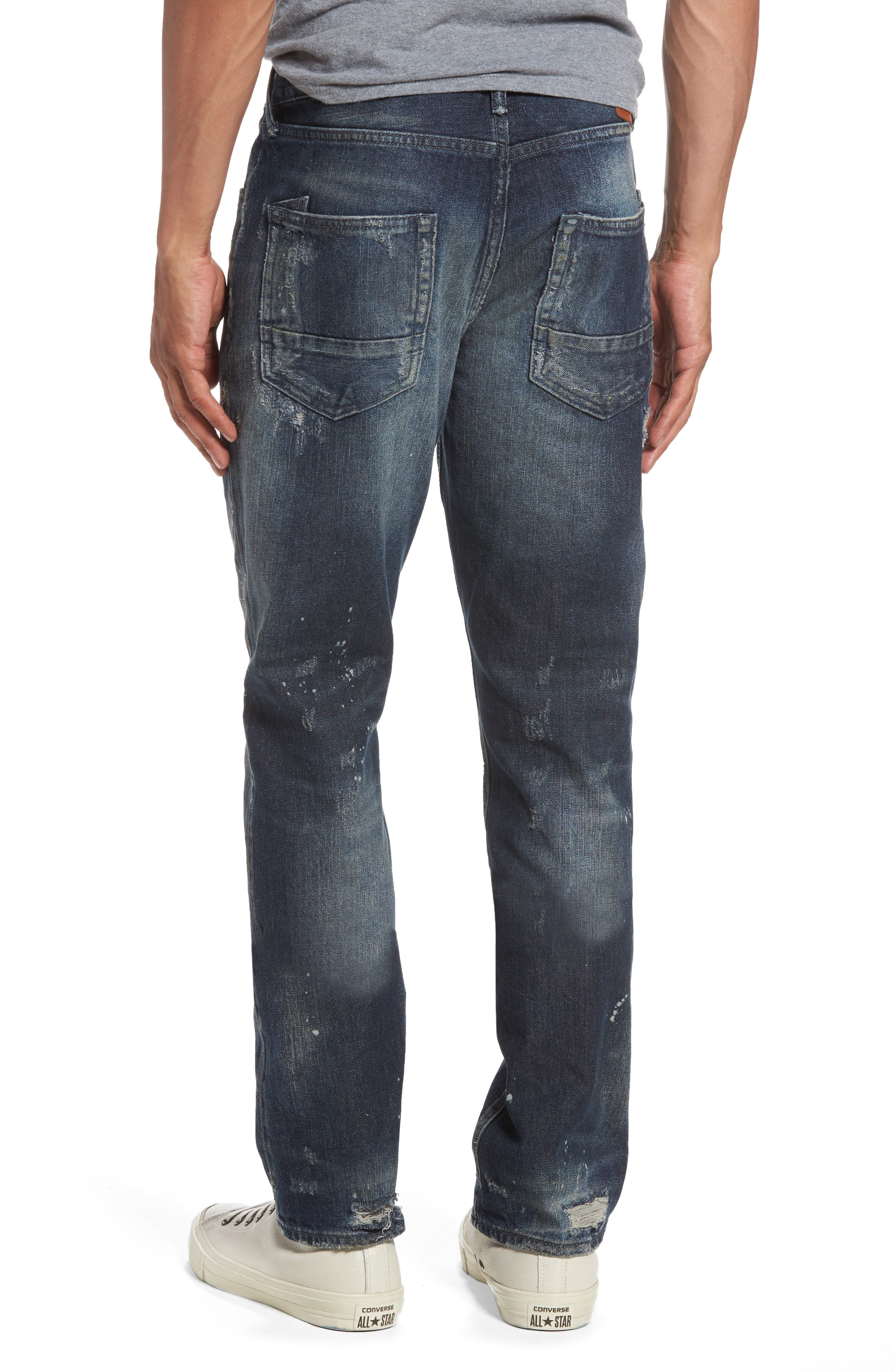 Alternate Image 2  - PRPS Demon Slim Straight Leg Jeans
