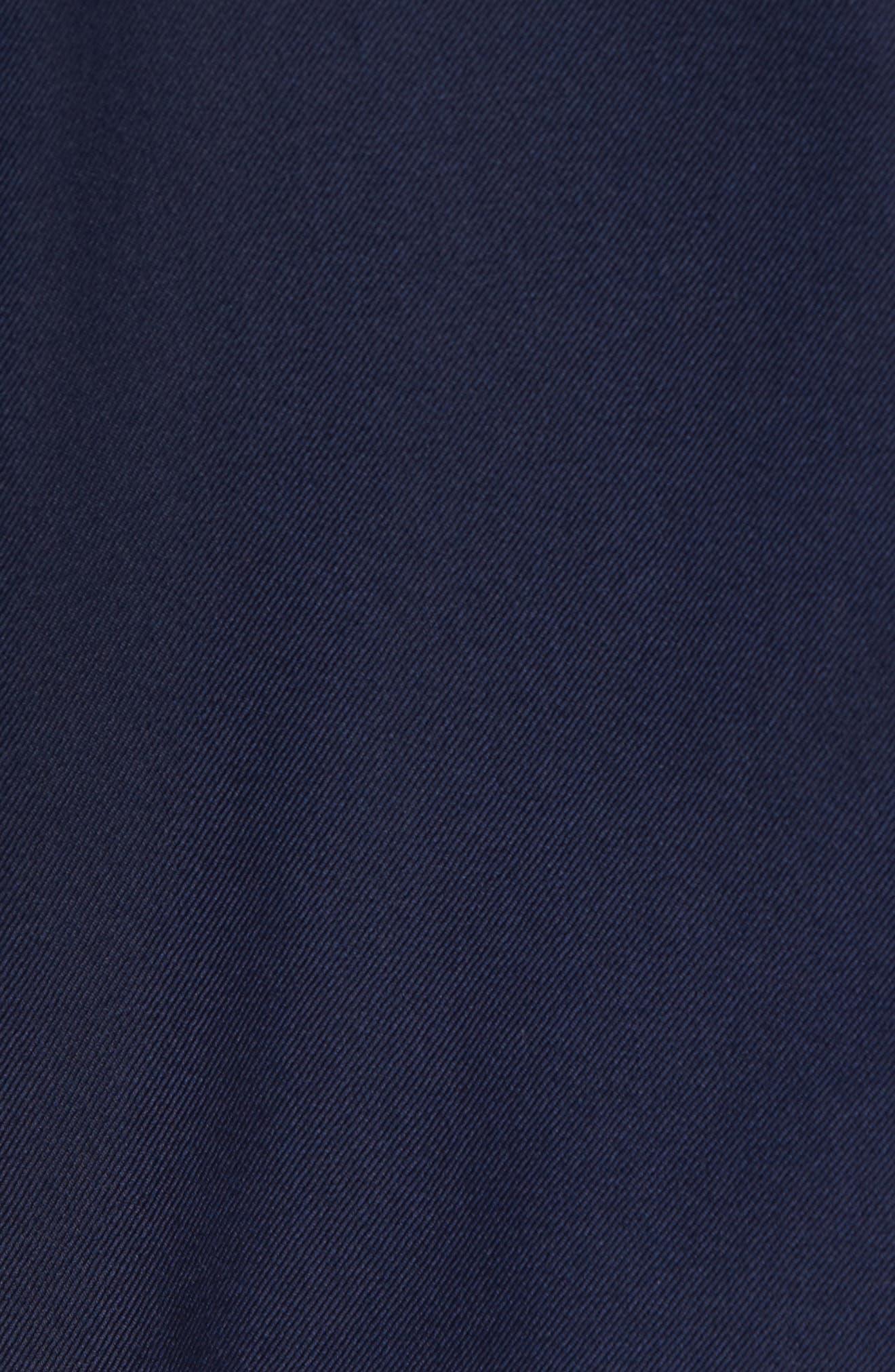 Classic B Fit Loro Piana Wool Suit,                             Alternate thumbnail 7, color,                             Navy