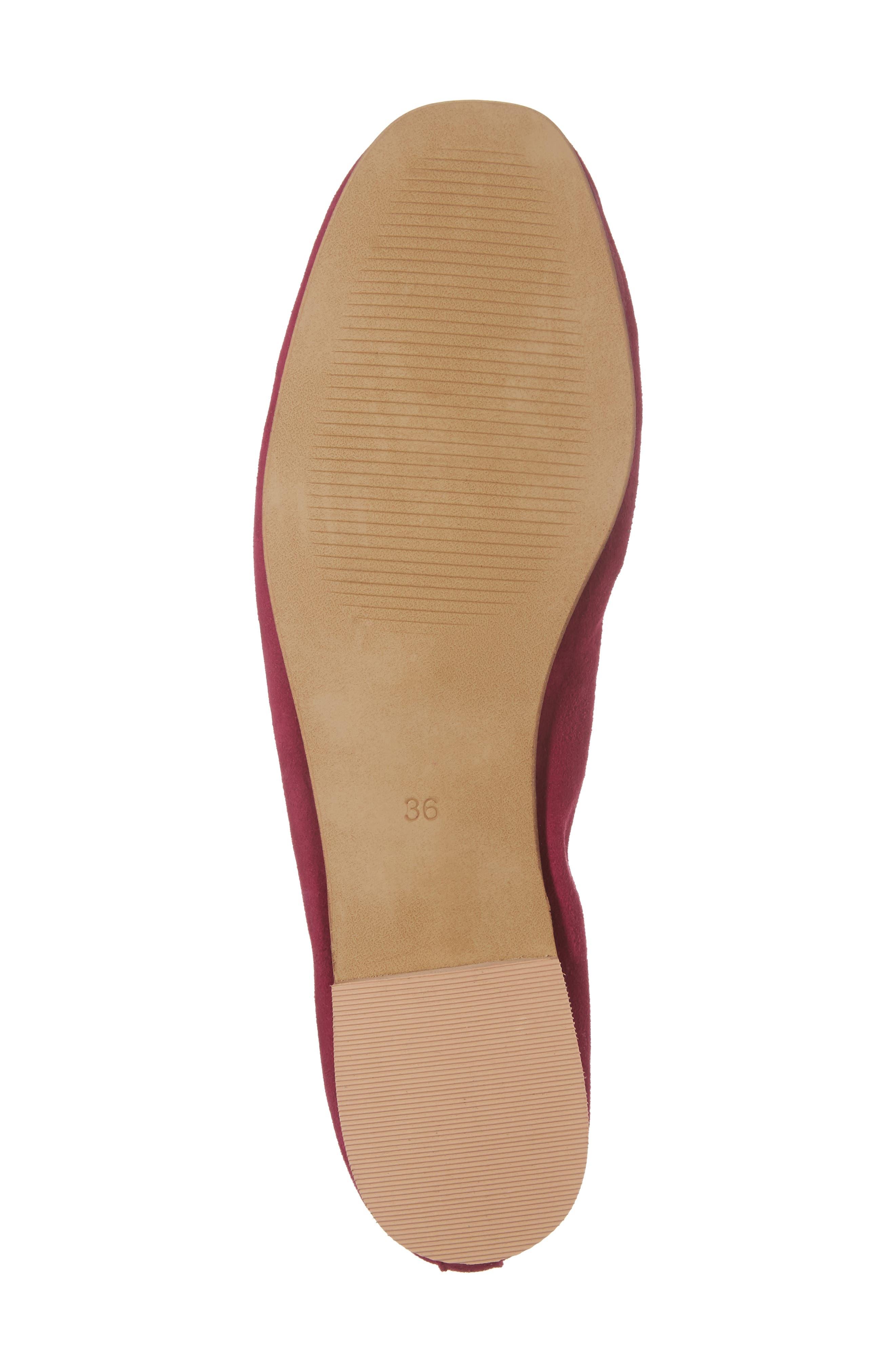 Alternate Image 6  - Topshop Kick Ballet Flat (Women)