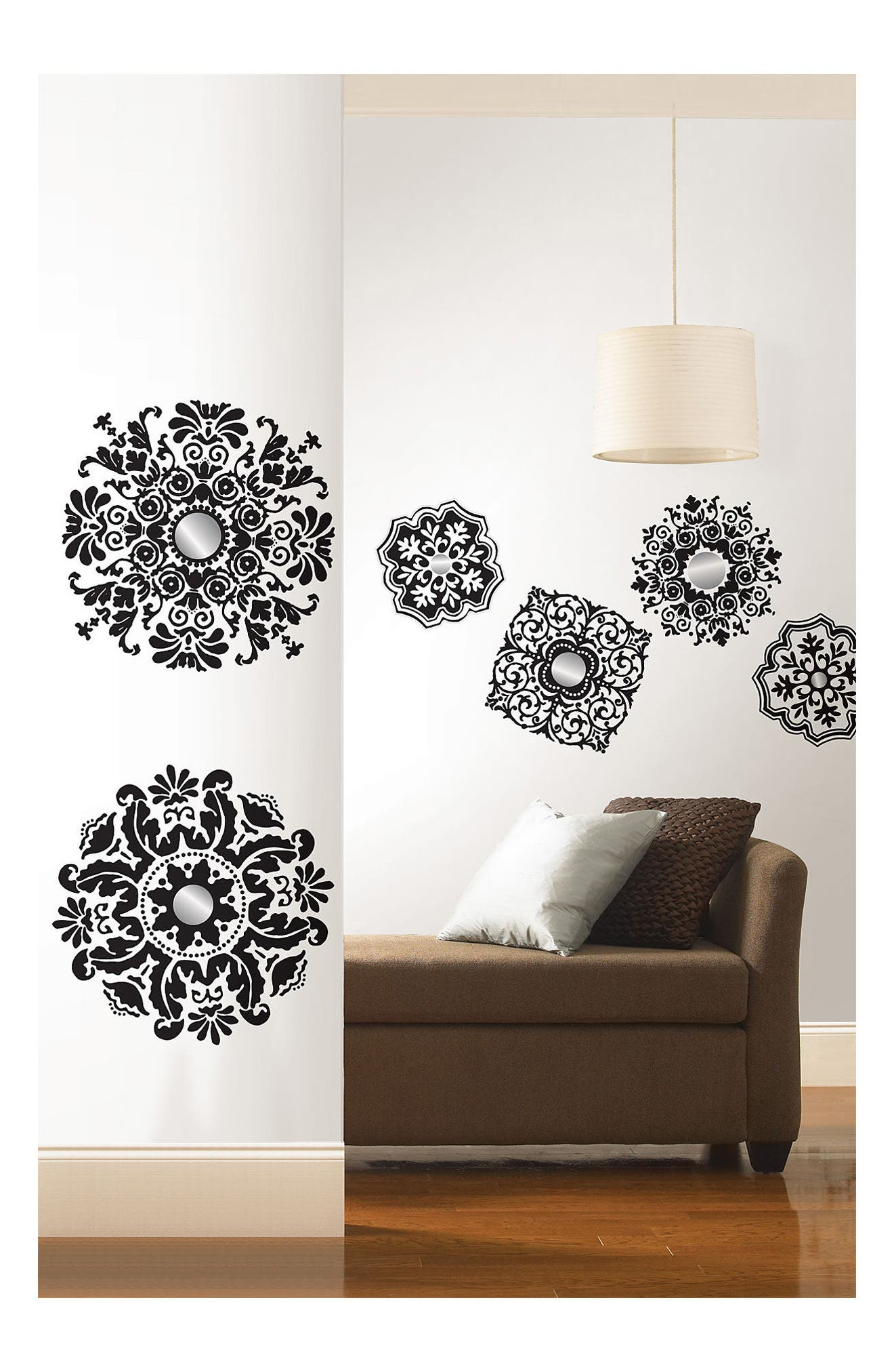 Alternate Image 4  - Wallpops Baroque 6-Piece Wall Art Decal Set