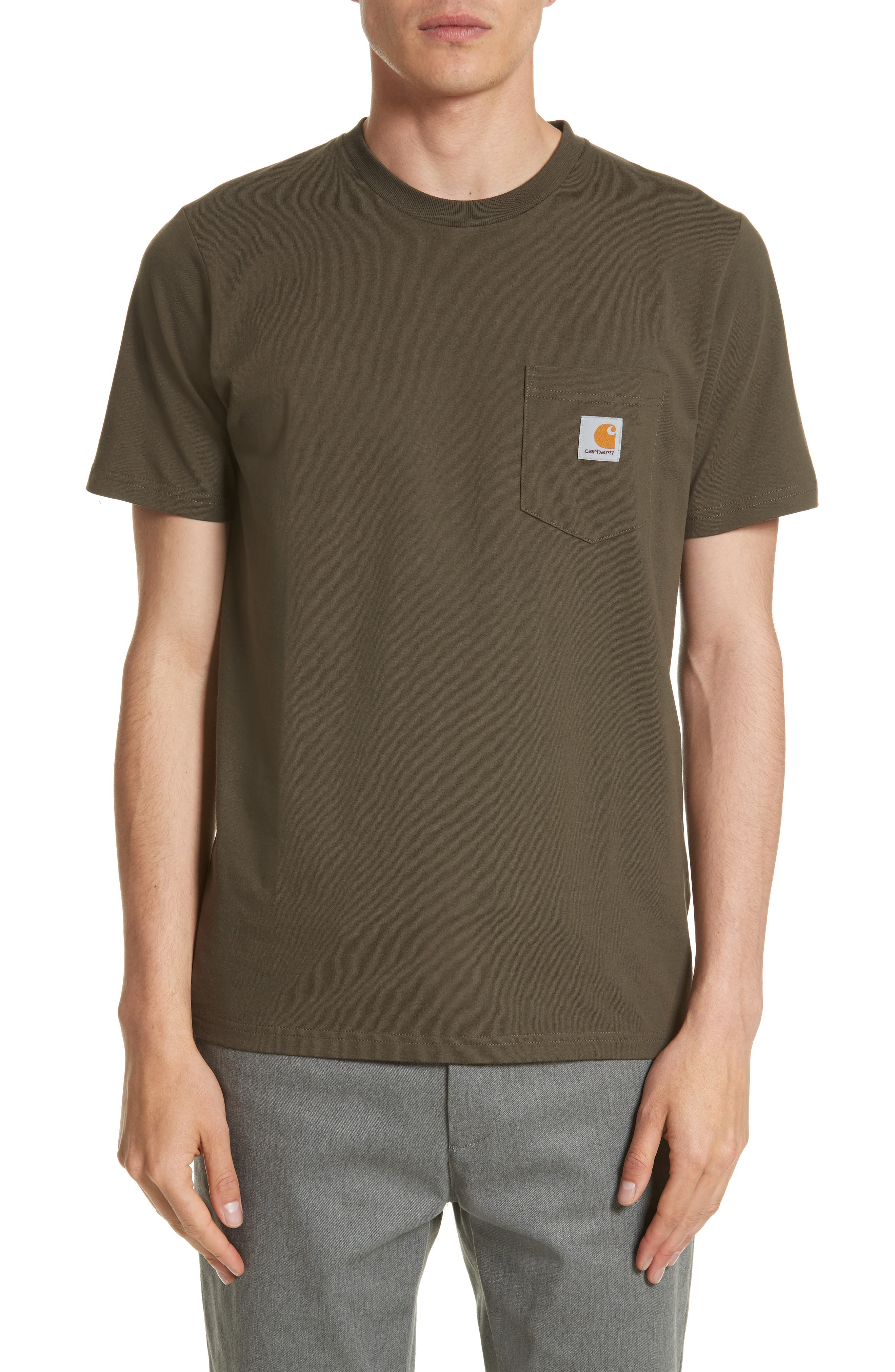 Alternate Image 1 Selected - Carhartt Work in Progress Logo Pocket T-Shirt
