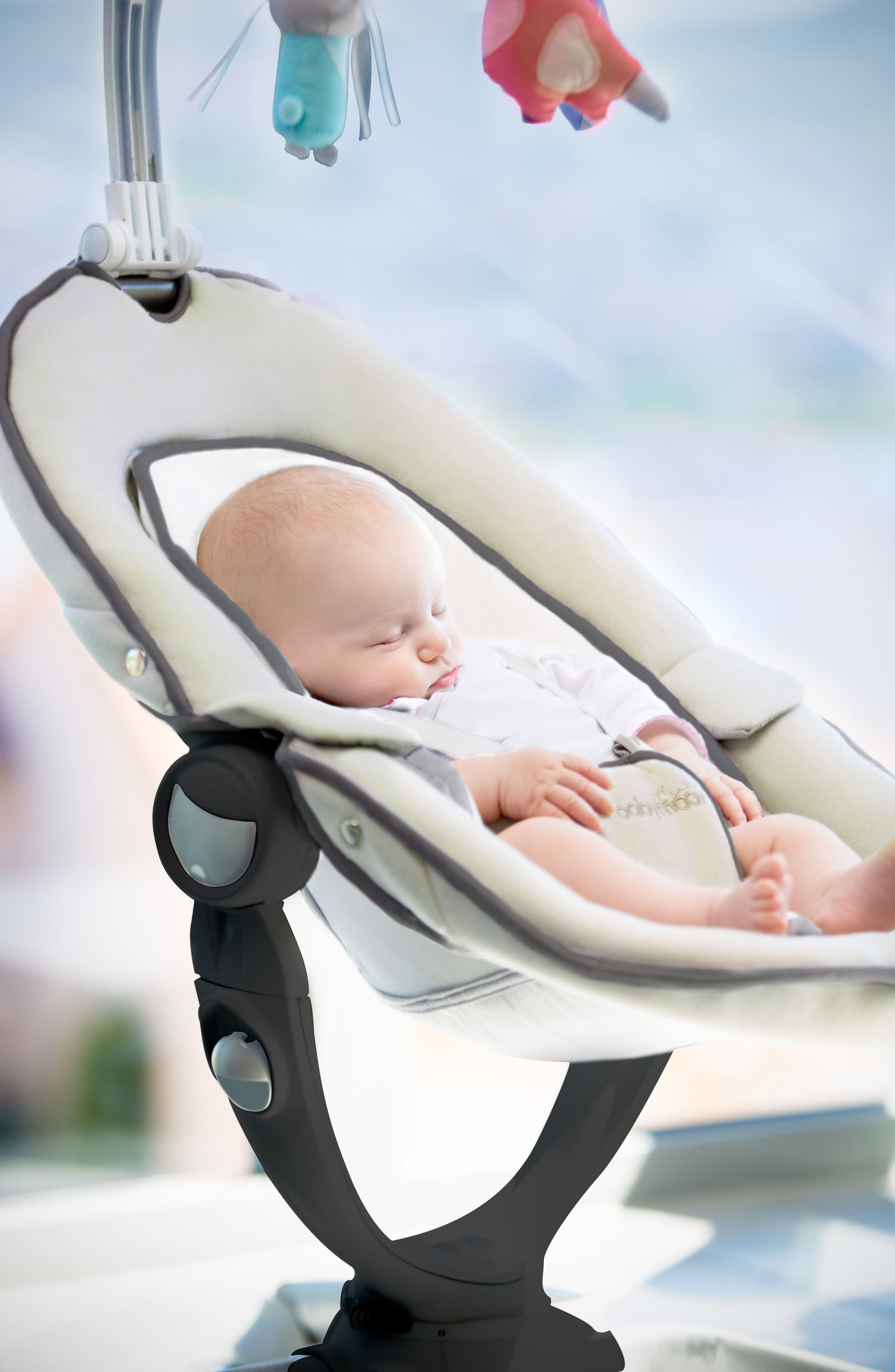 Swoon Up Baby Bouncer Seat,                             Alternate thumbnail 8, color,                             Alu
