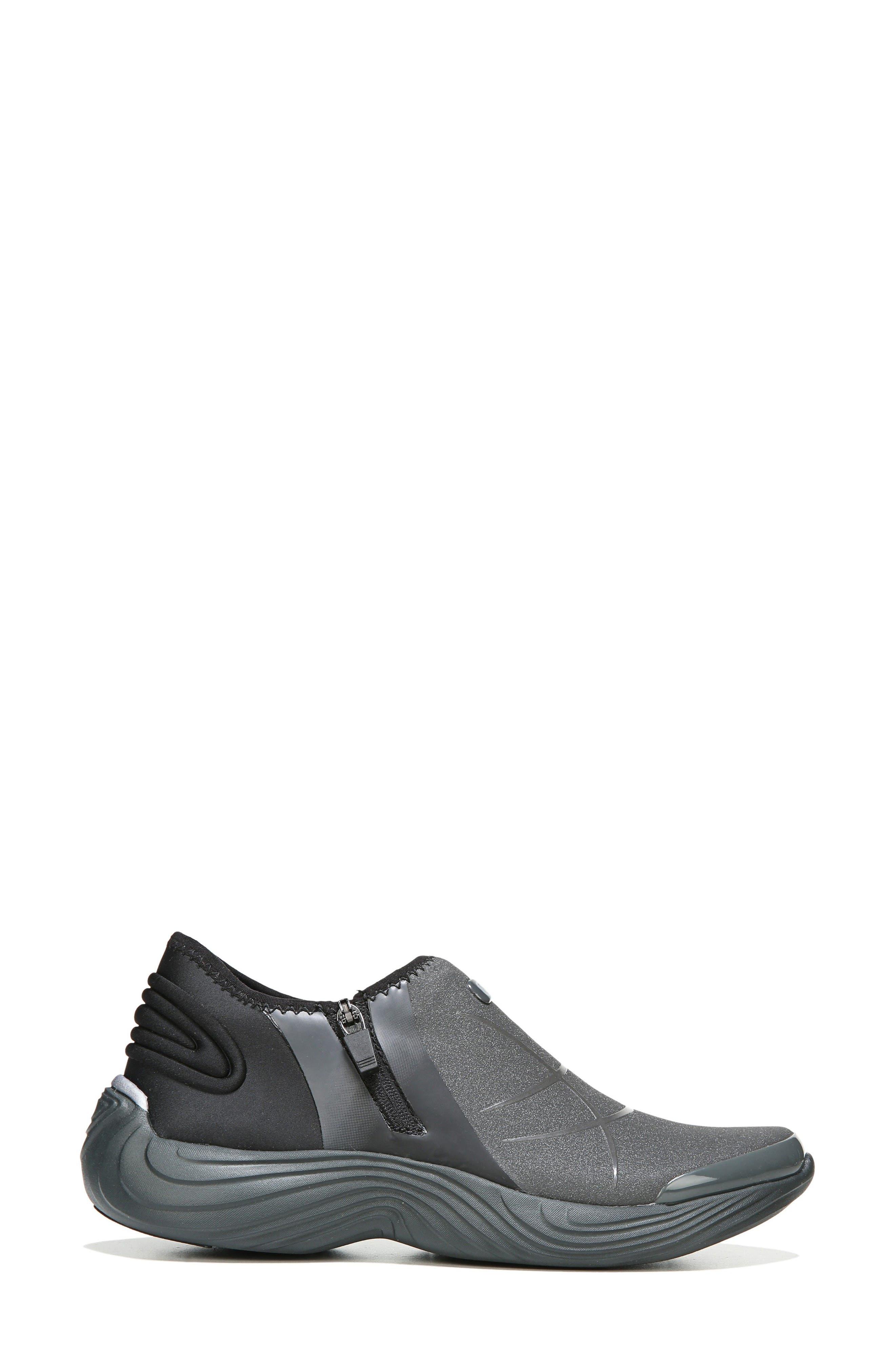 Trilogy Slip-On Sneaker,                             Alternate thumbnail 3, color,                             Grey Fabric