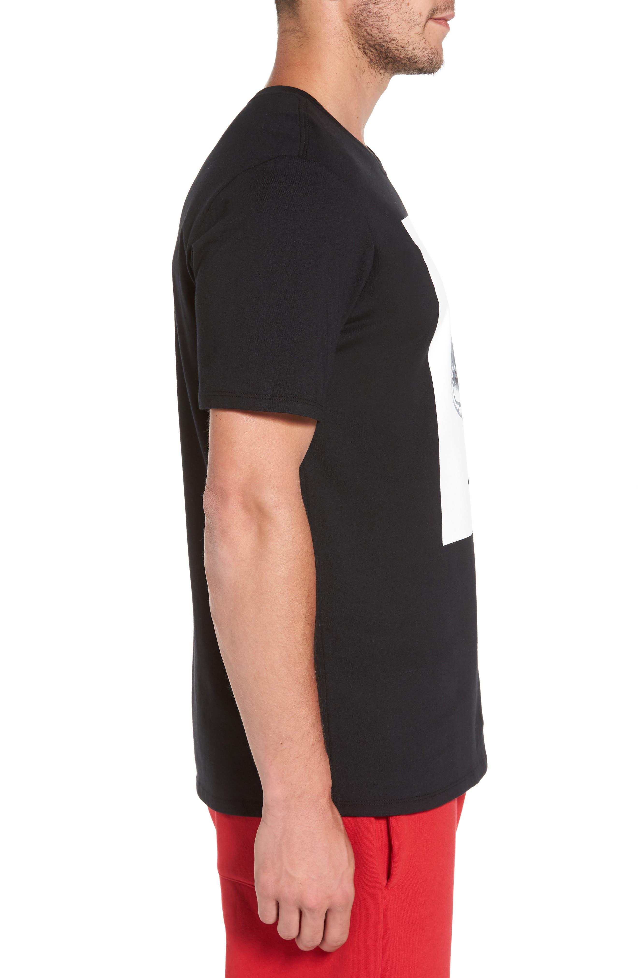 Sportswear AJ11 CNXN Graphic T-Shirt,                             Alternate thumbnail 3, color,                             Black