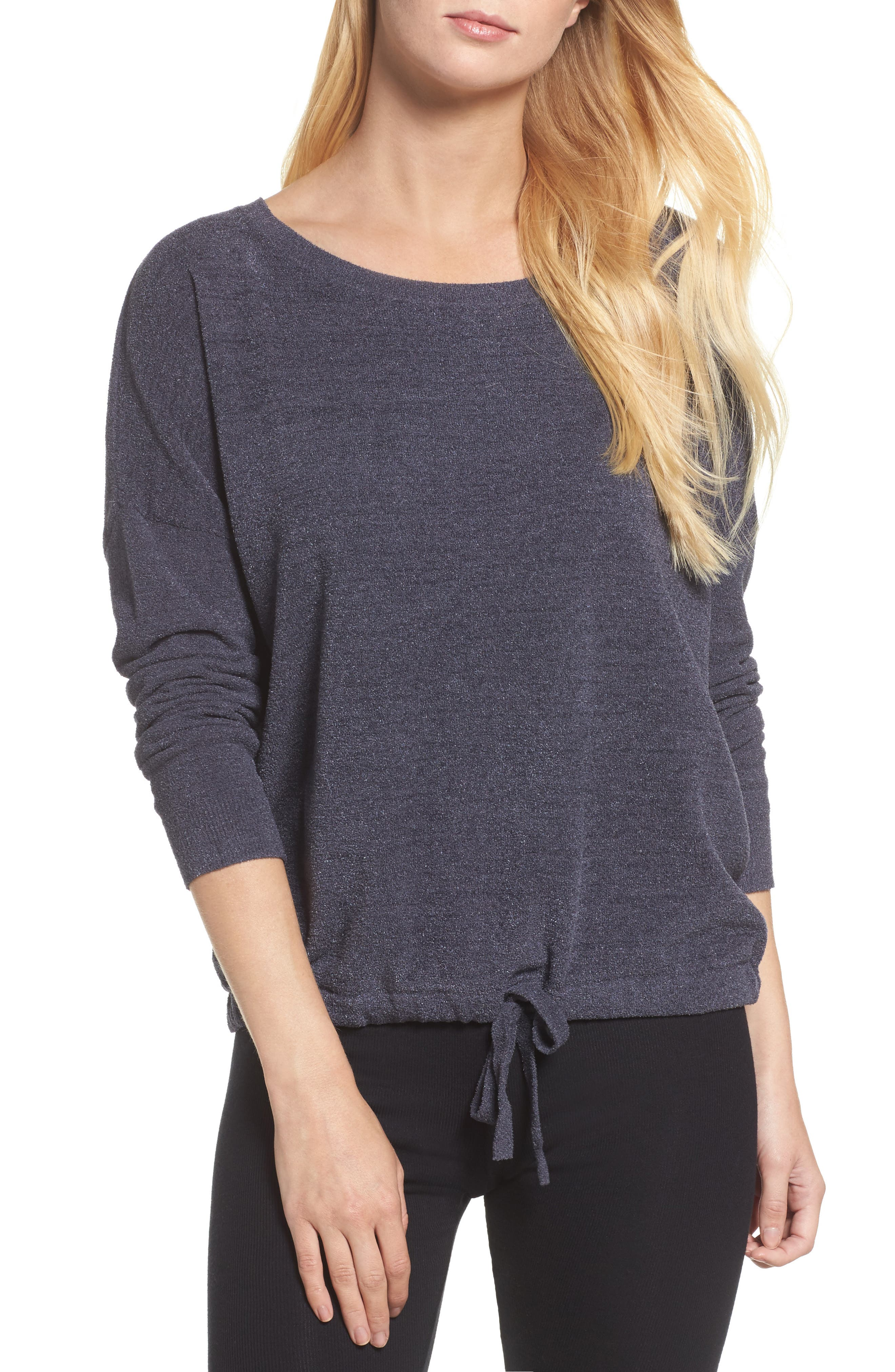 Alternate Image 1 Selected - Barefoot Dreams® Cozychic Ultra Lite® Lounge Pullover