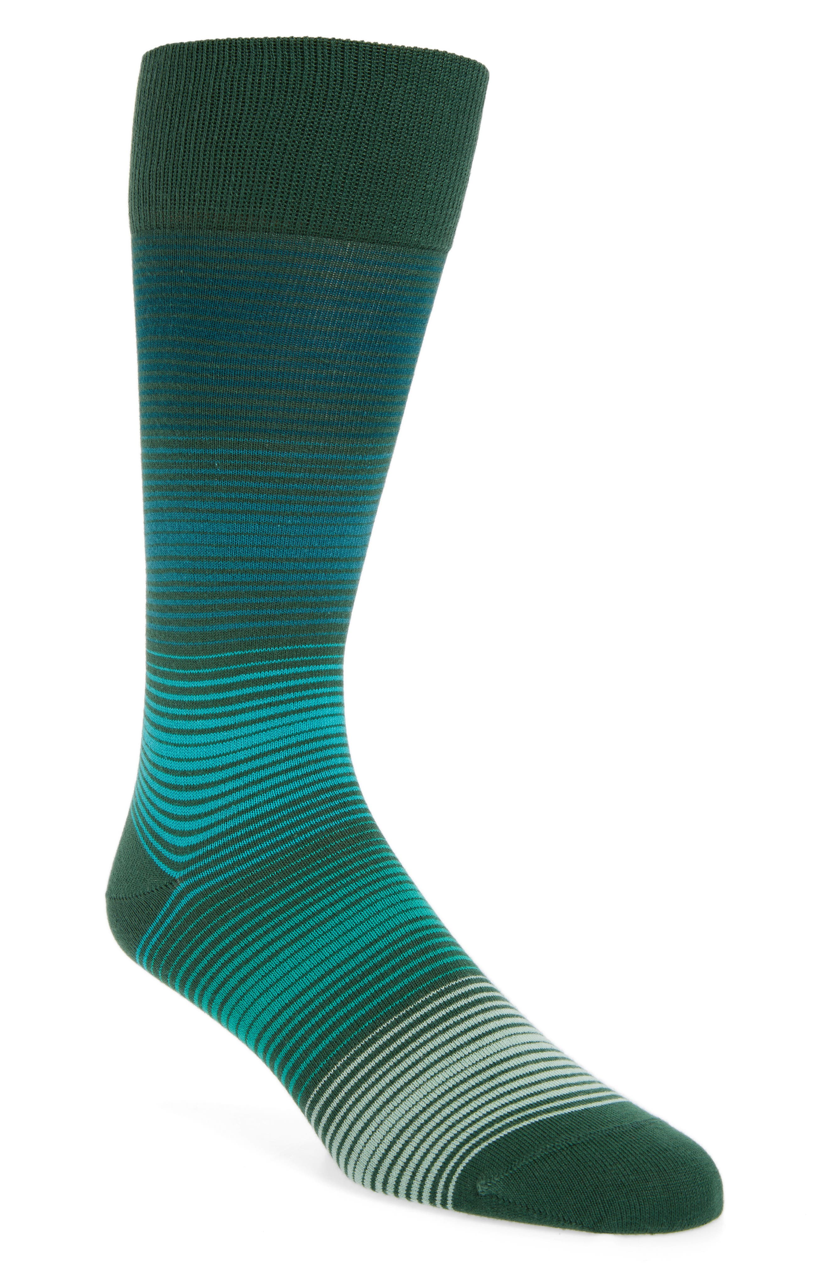 Fine Grade Socks,                         Main,                         color, Green