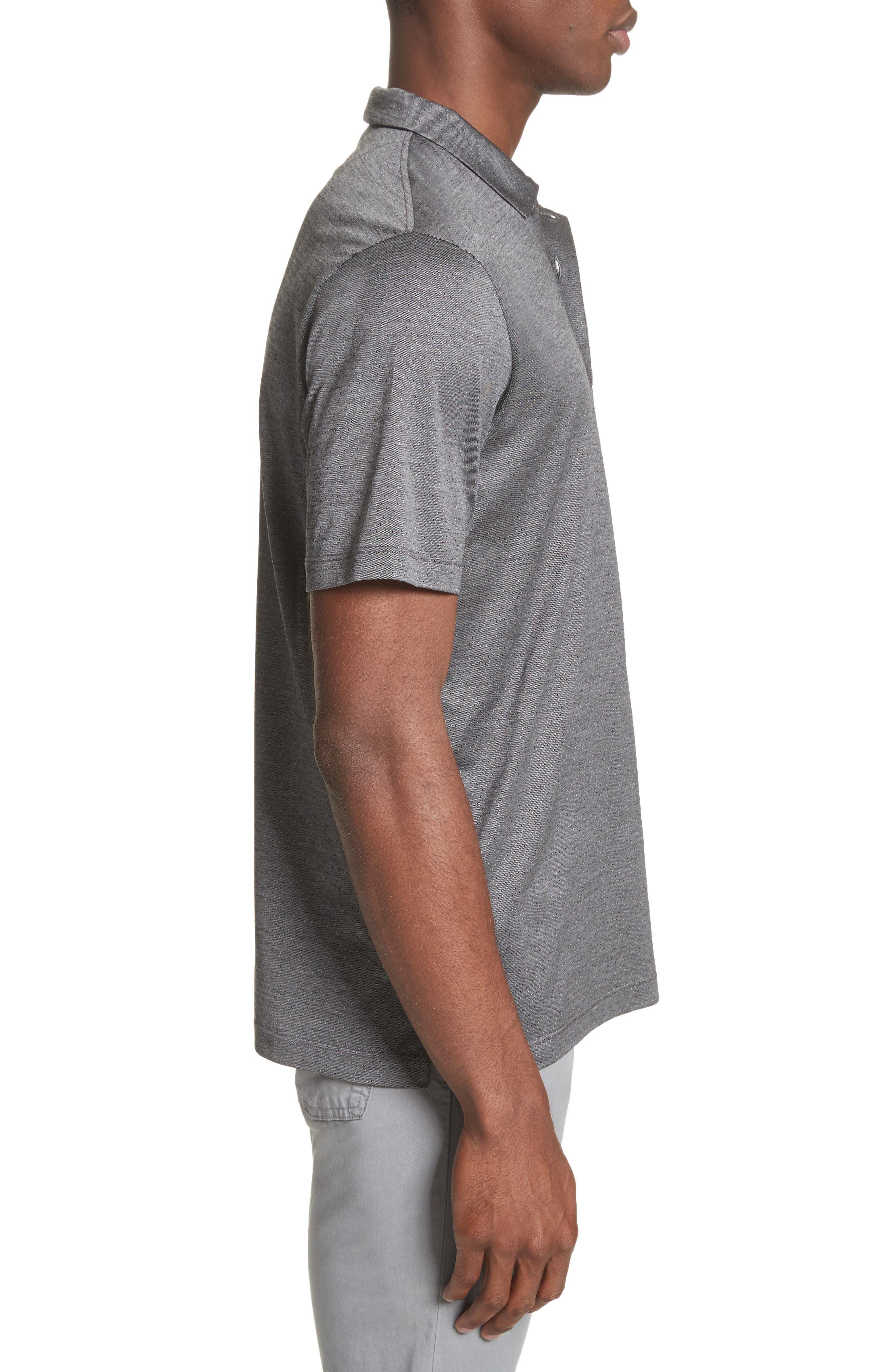 Alternate Image 3  - Canali Fancy Slim Fit Polo