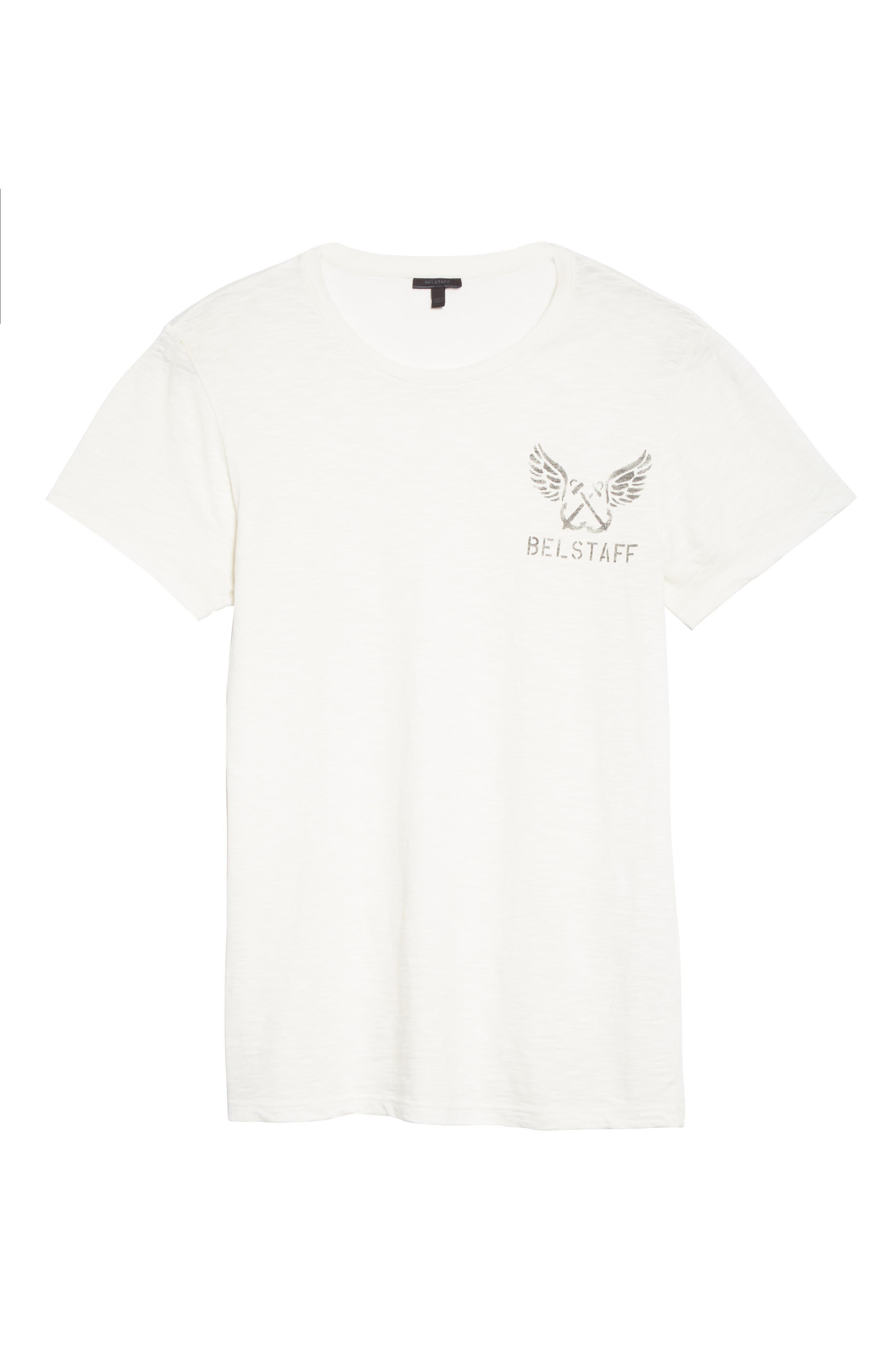 Hamberton Logo T-Shirt,                             Alternate thumbnail 6, color,                             Off White