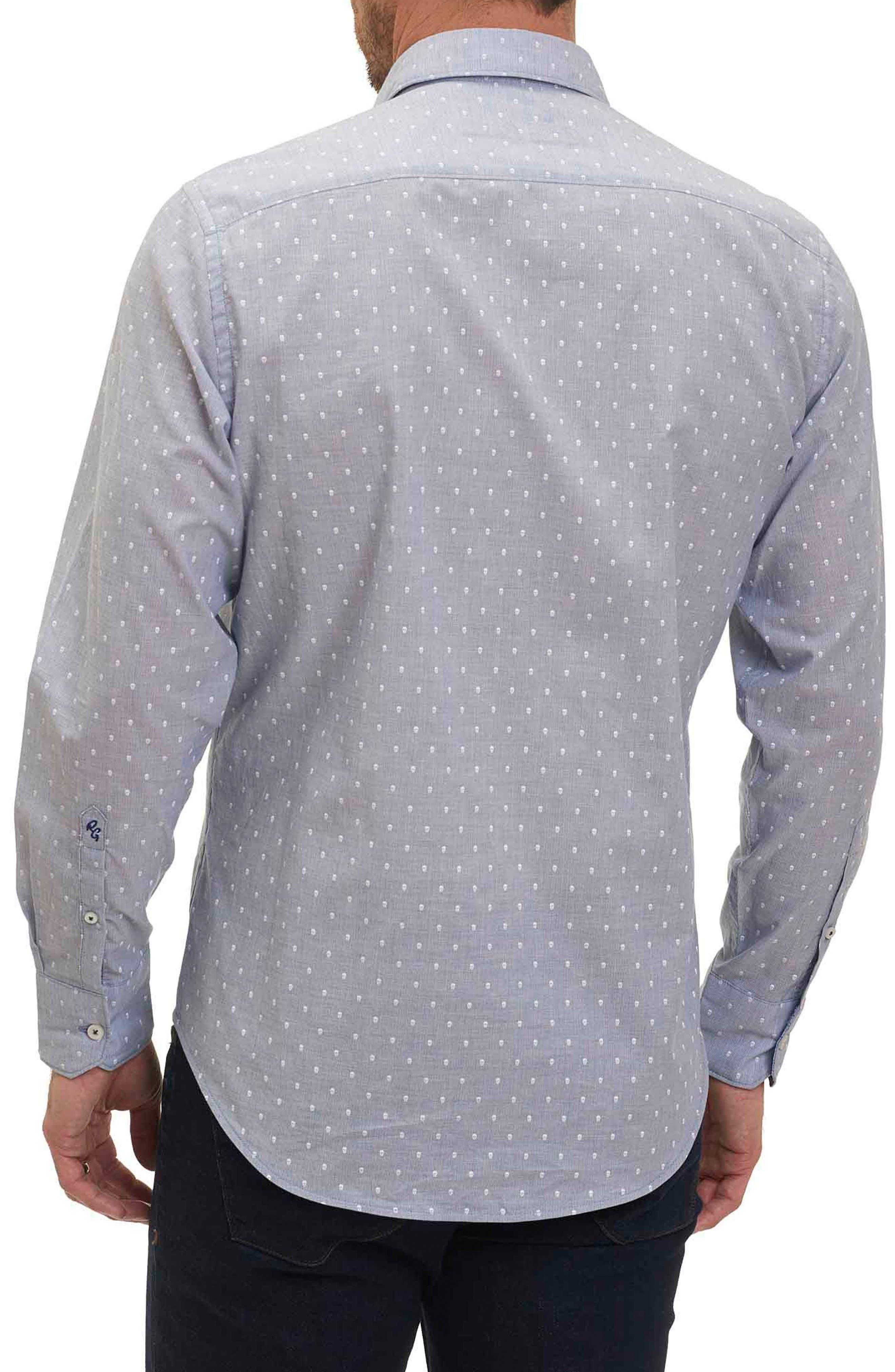 Alternate Image 2  - Robert Graham Dogtown Stripe Sport Shirt