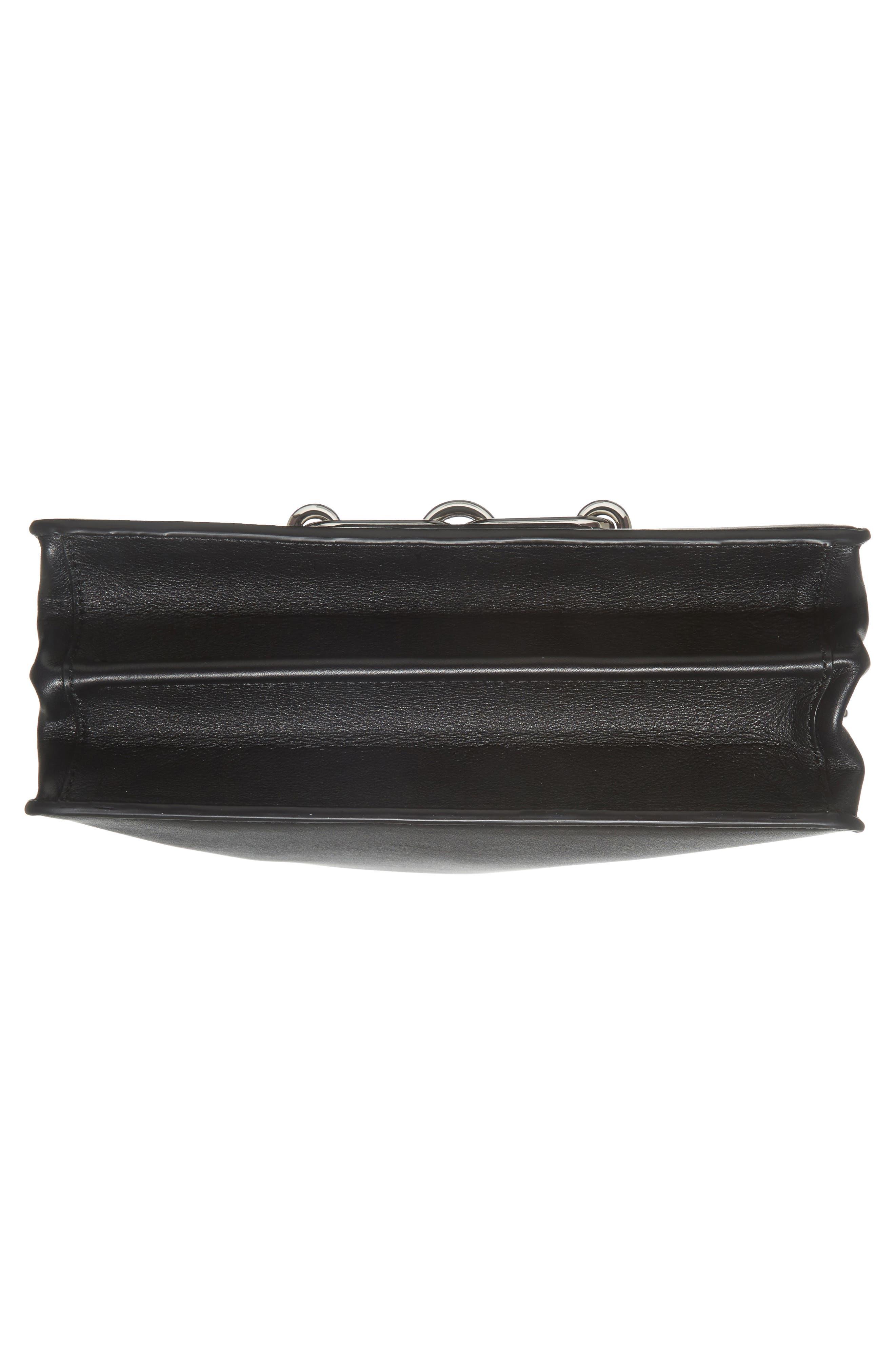 Medium Shoulder Bag,                             Alternate thumbnail 5, color,                             Black