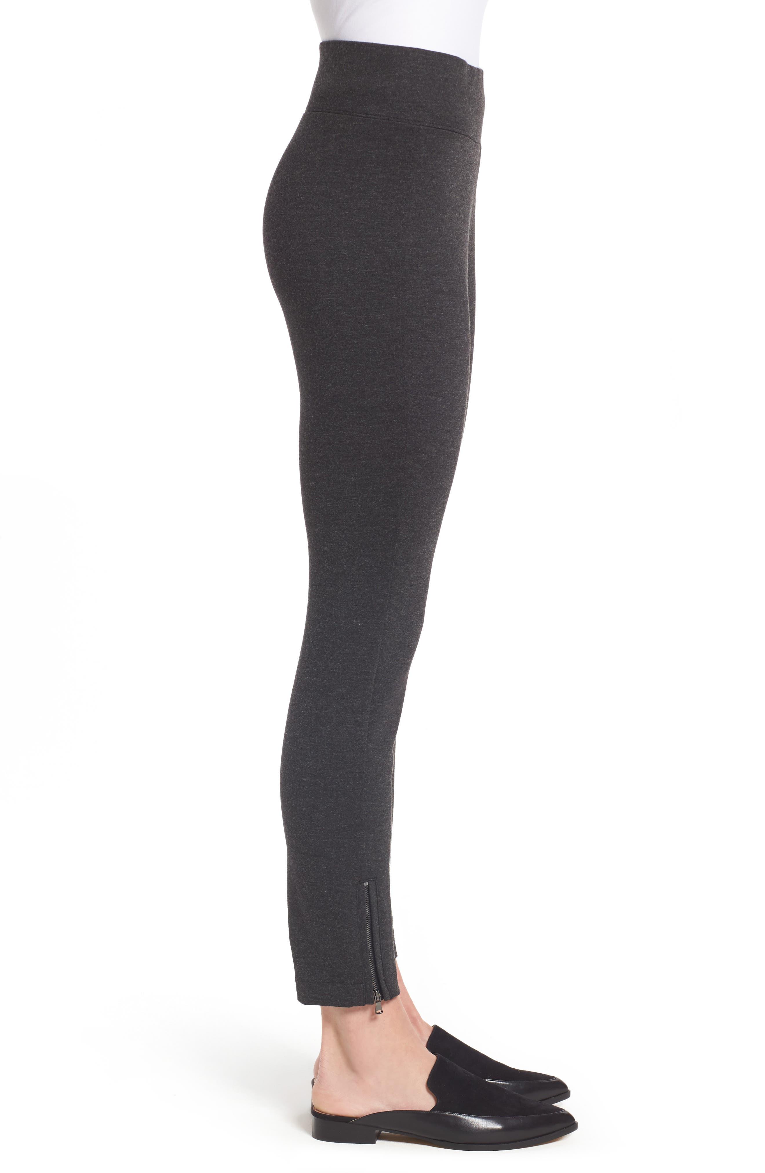 Alternate Image 3  - NYDJ Zip Ankle Ponte Leggings (Regular & Petite)