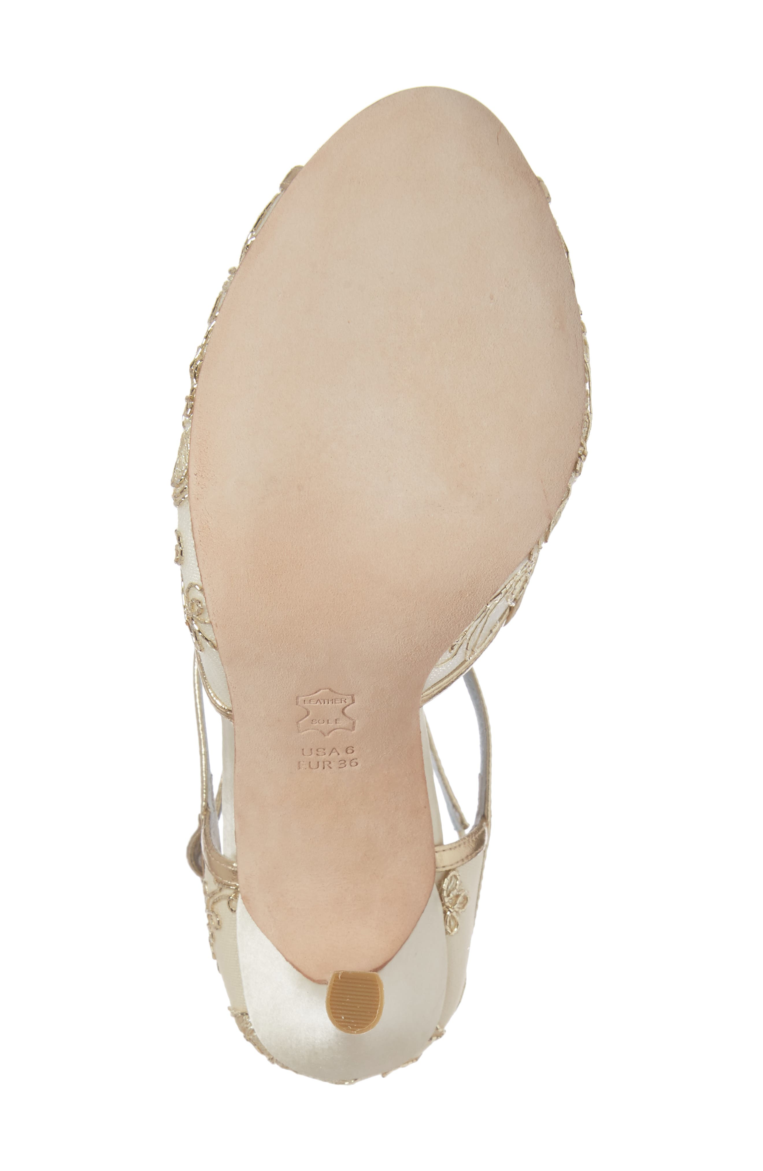 Alternate Image 6  - Bella Belle Tess Peep Toe Sandal (Women)