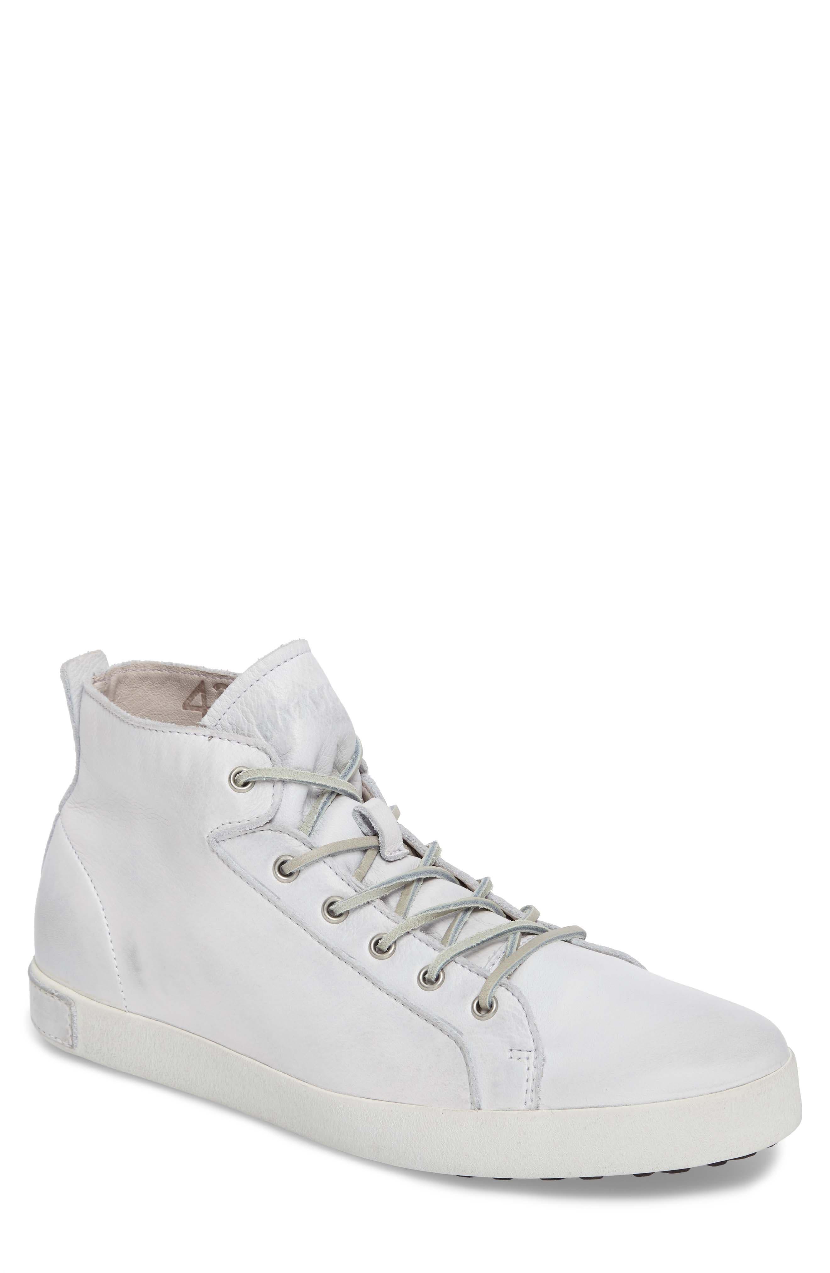 'JM03' Sneaker,                         Main,                         color, White Leather