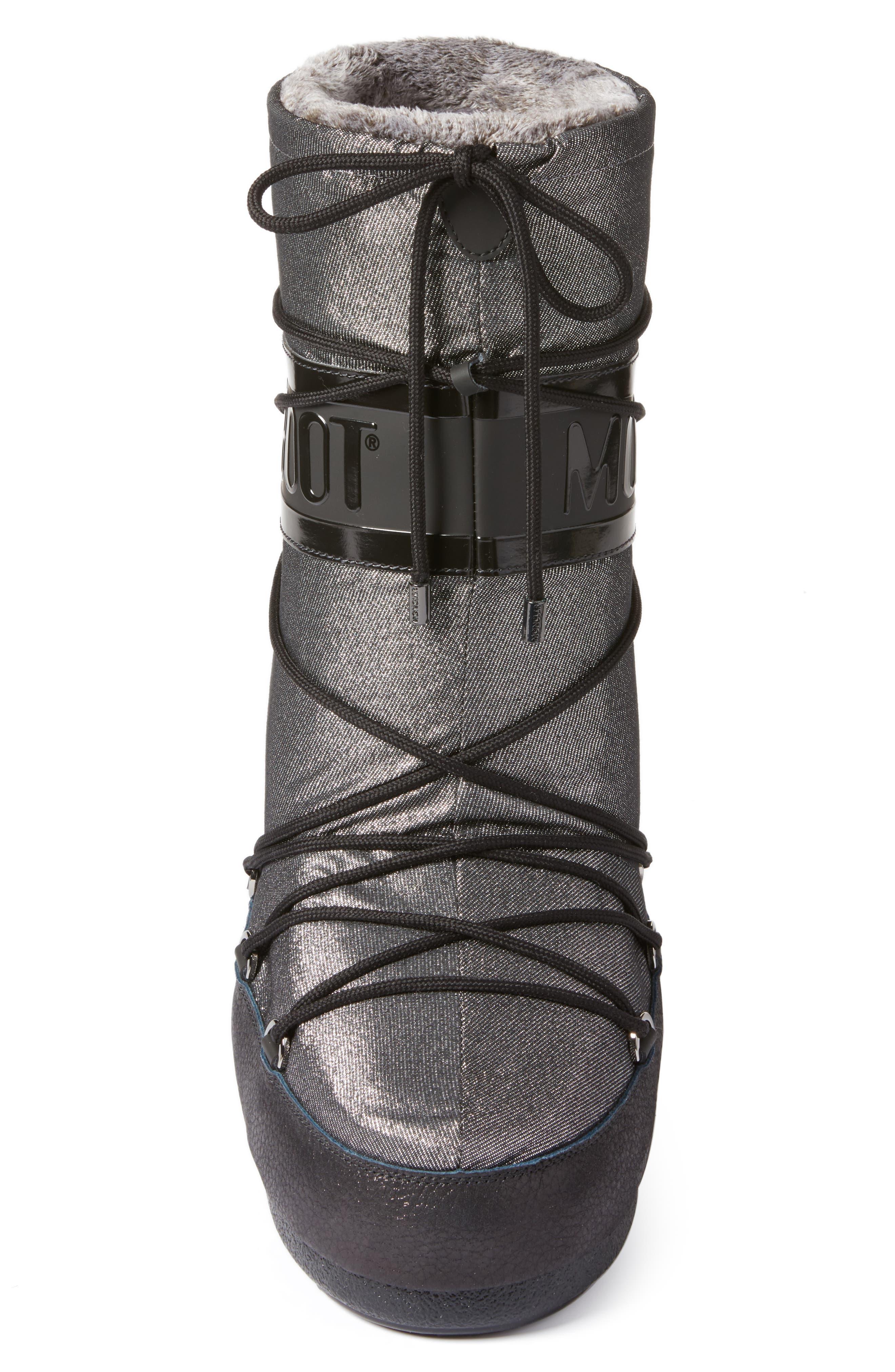Alternate Image 4  - Moncler Saturne Moon Boot (Women)