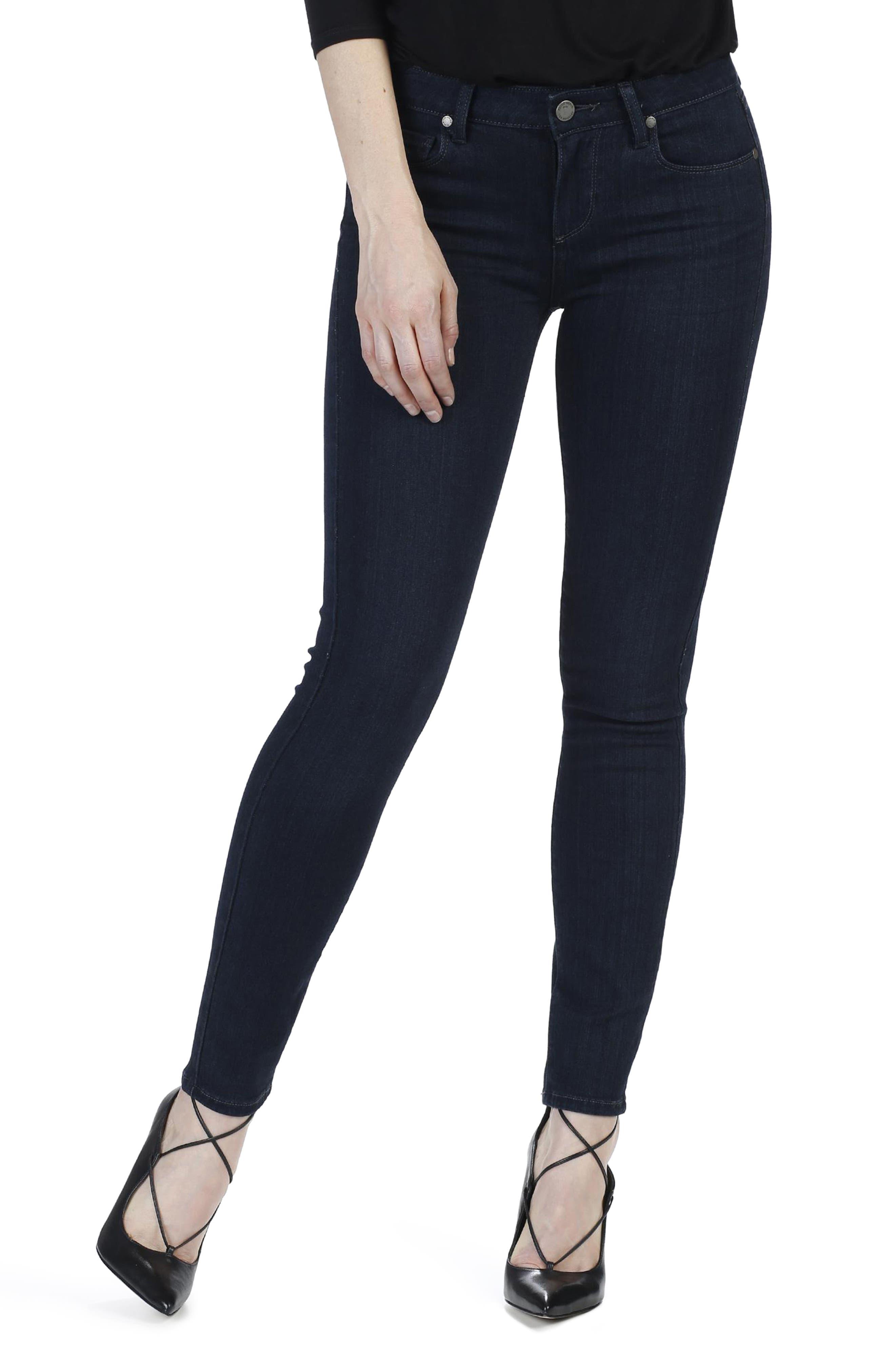 Transcend - Verdugo Ankle Ultra Skinny Jeans,                         Main,                         color, Dalton