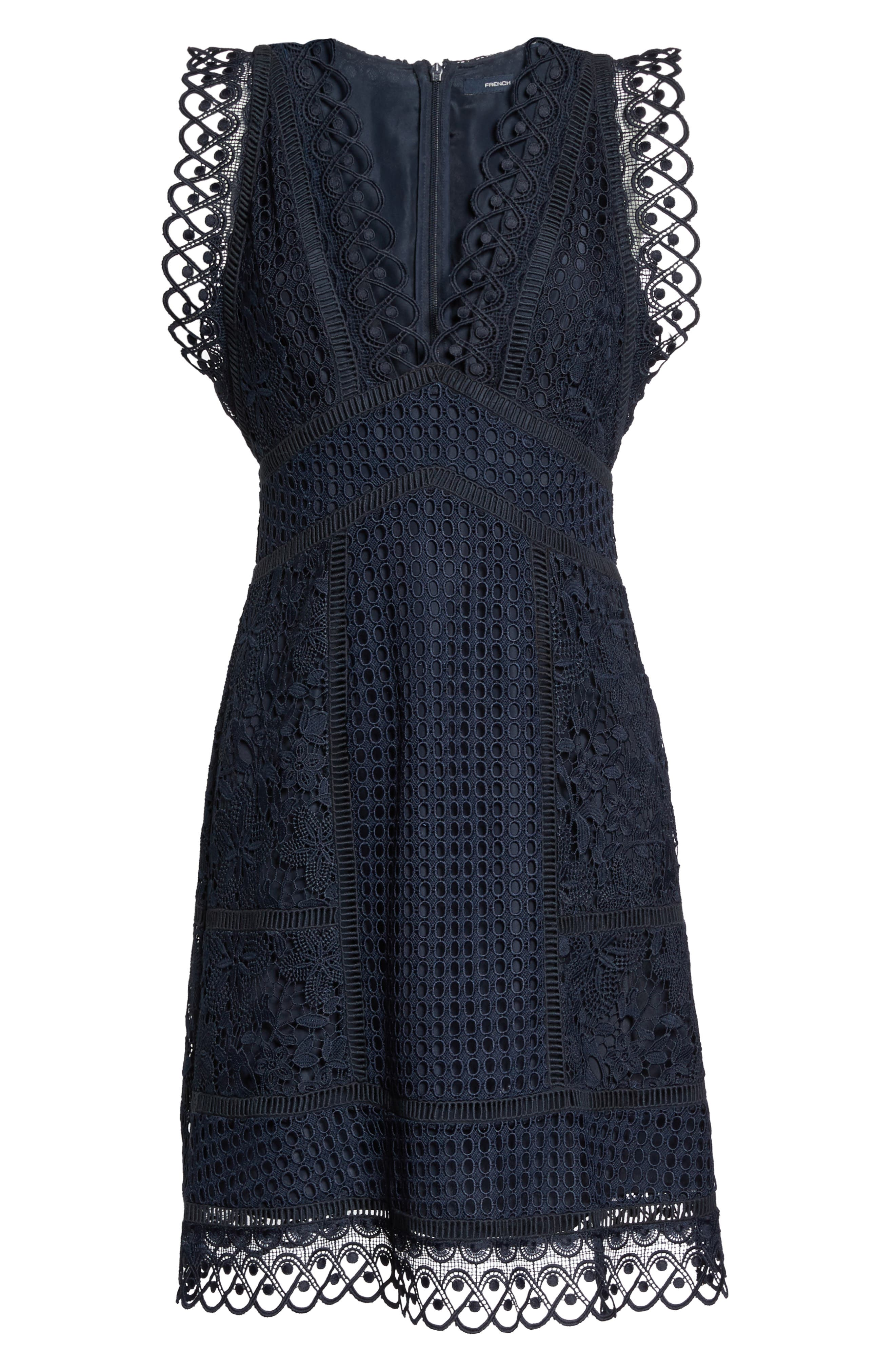 Alternate Image 6  - French Connection Zahra Fit & Flare Dress