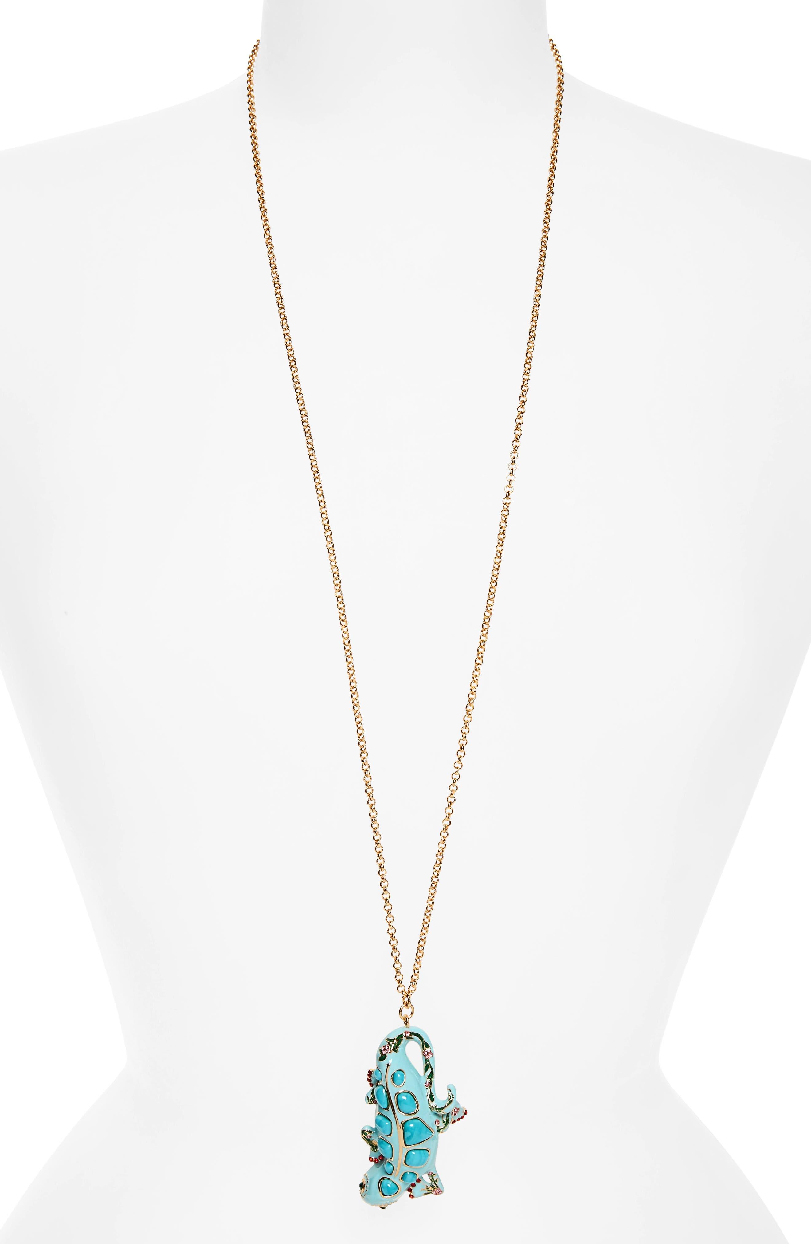 KATE SPADE NEW YORK baja bound pendant necklace